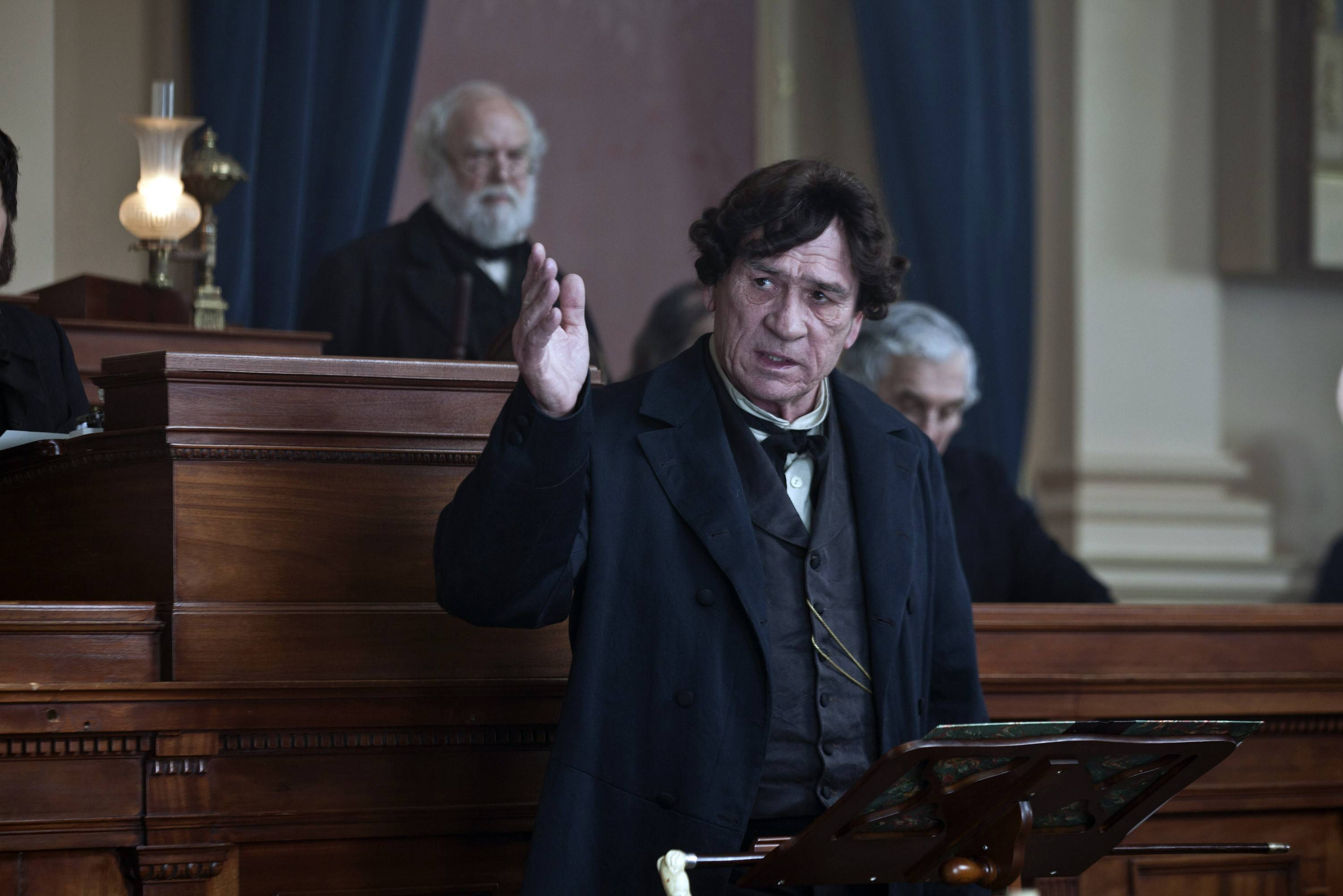 "Mike Smithson, who grew up in McHenry, did some makeup work on Tommy Lee Jones in the movie ""Lincoln."""