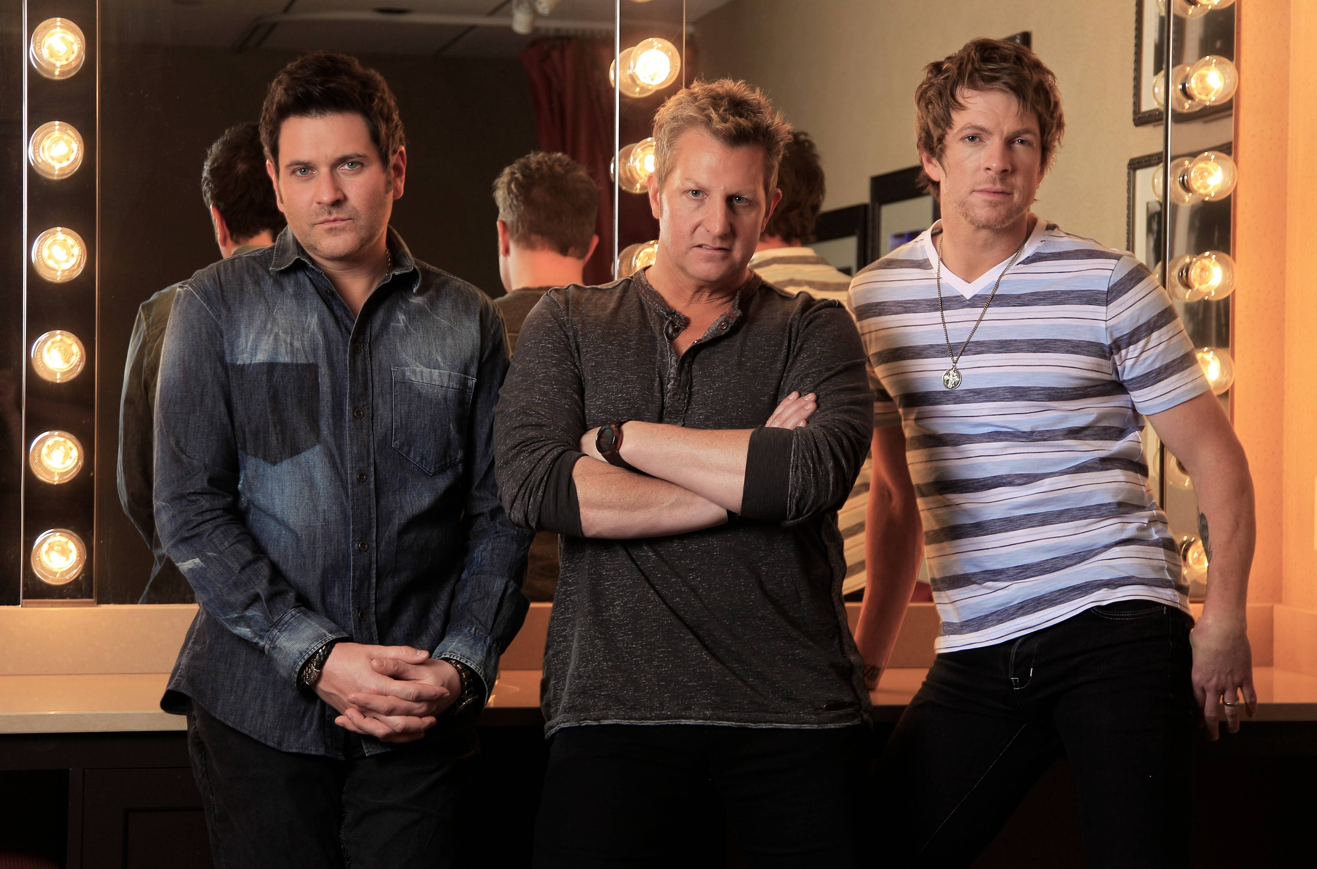 Rascal Flatts brings its Rewind Tour 2014 to the First Midwest Bank Amphitheatre in Tinley Park at 7:30 p.m. Saturday, June 14.