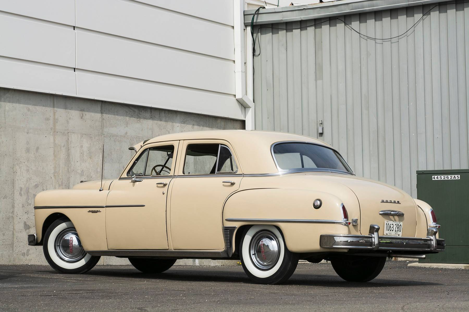 The original sticker price of the 1950 Coronet was around $2,100.