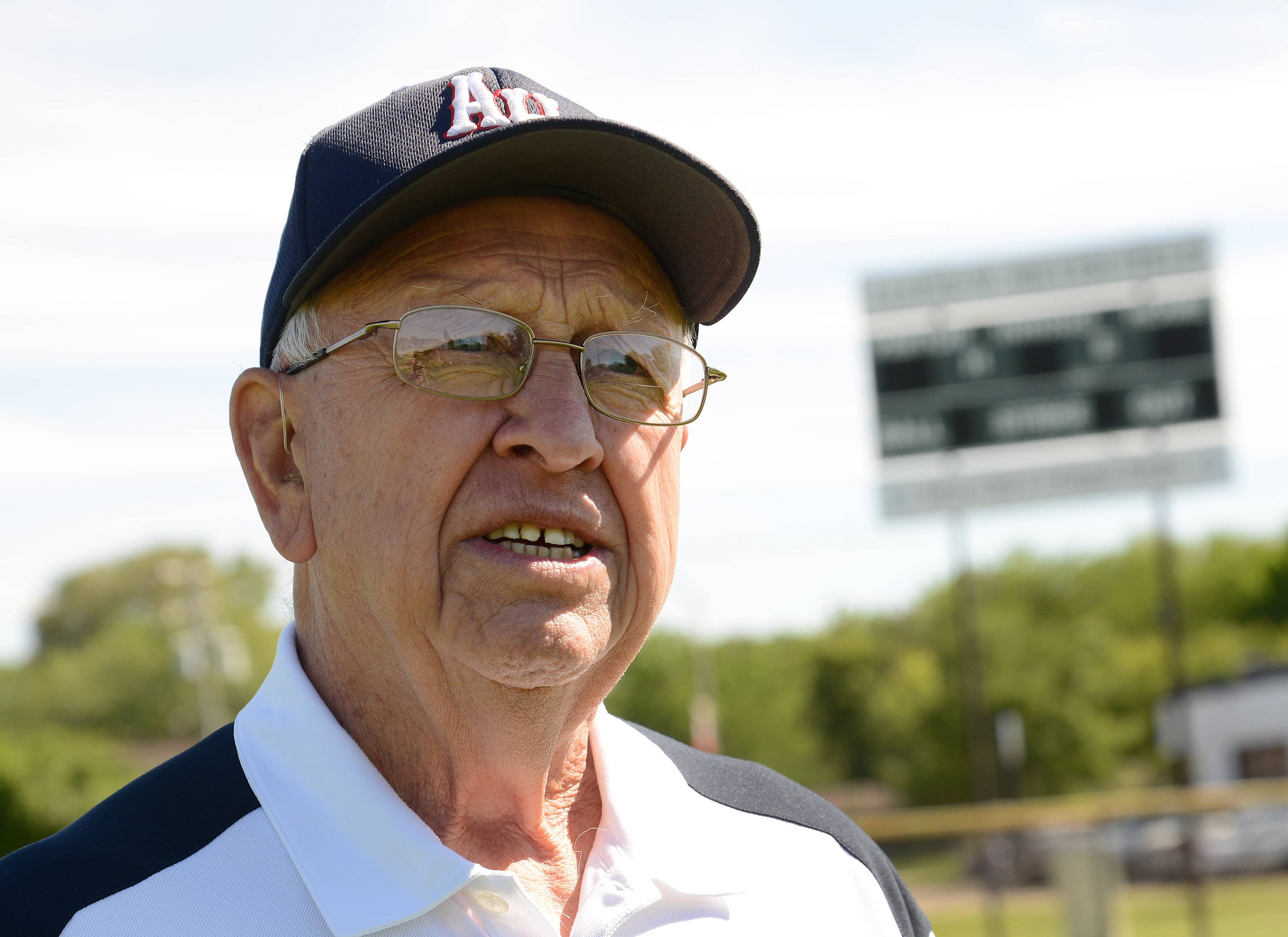 Lloyd Meyer is starting his 61st year of coaching American Legion baseball.