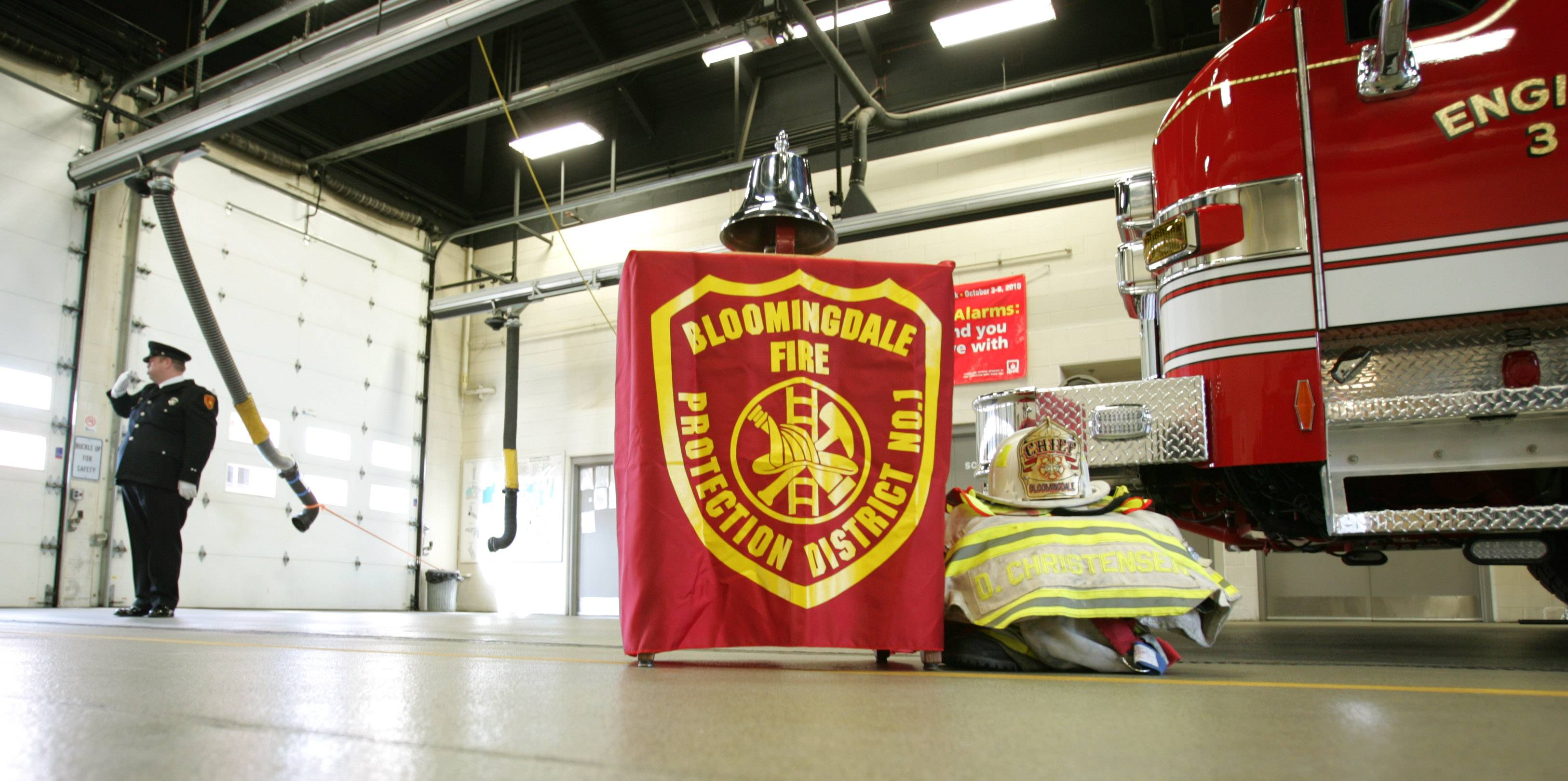 "Bloomingdale Fire Protection District leaders say they're willing to listen to Hanover Park's overtures to provide services to an area currently within the district. ""We have to make sure it isn't detrimental to the rest of the district,"" said Tim Deutschle, who sits on the Bloomingdale Fire Protection District's board."