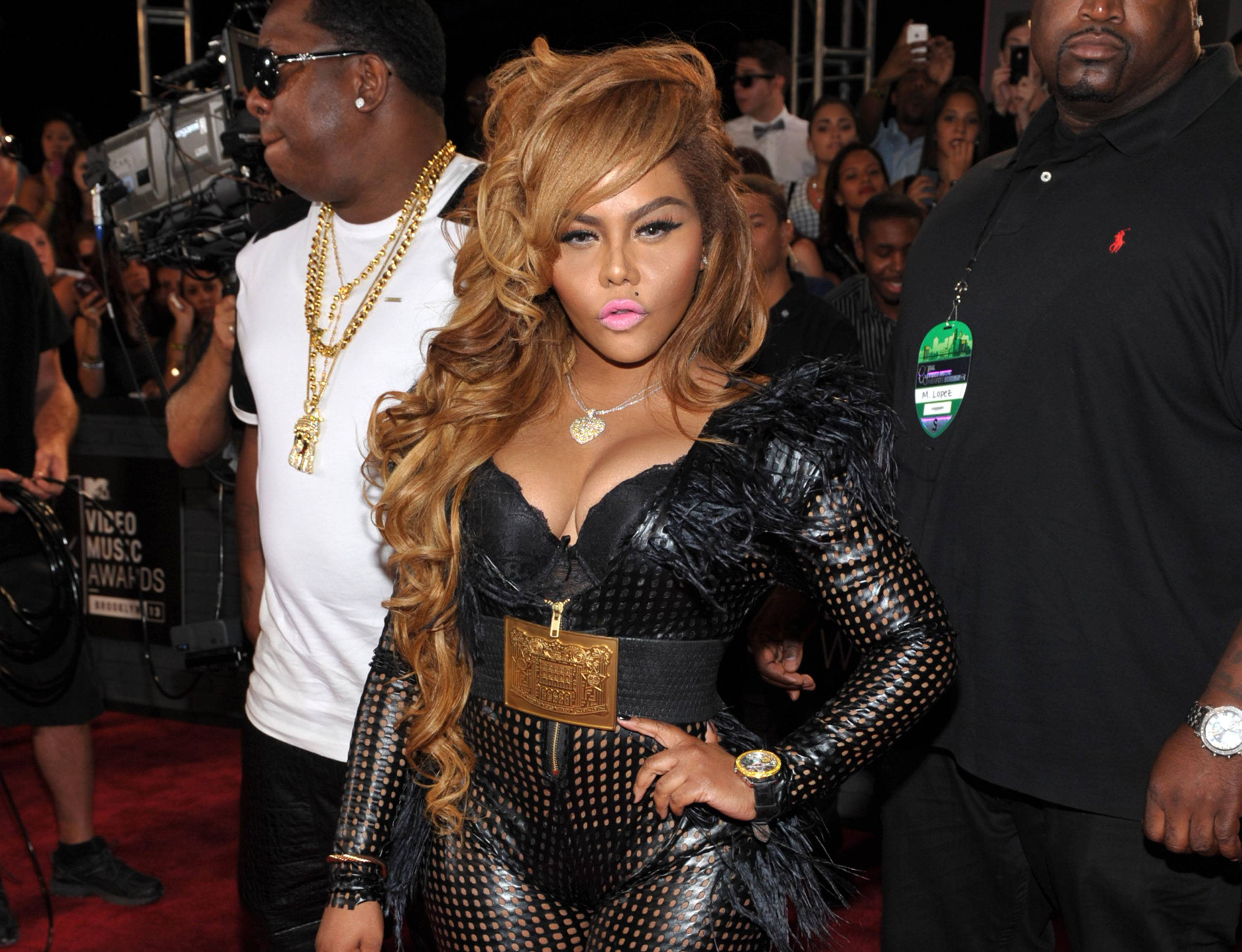 Lil' Kim is now a mother.