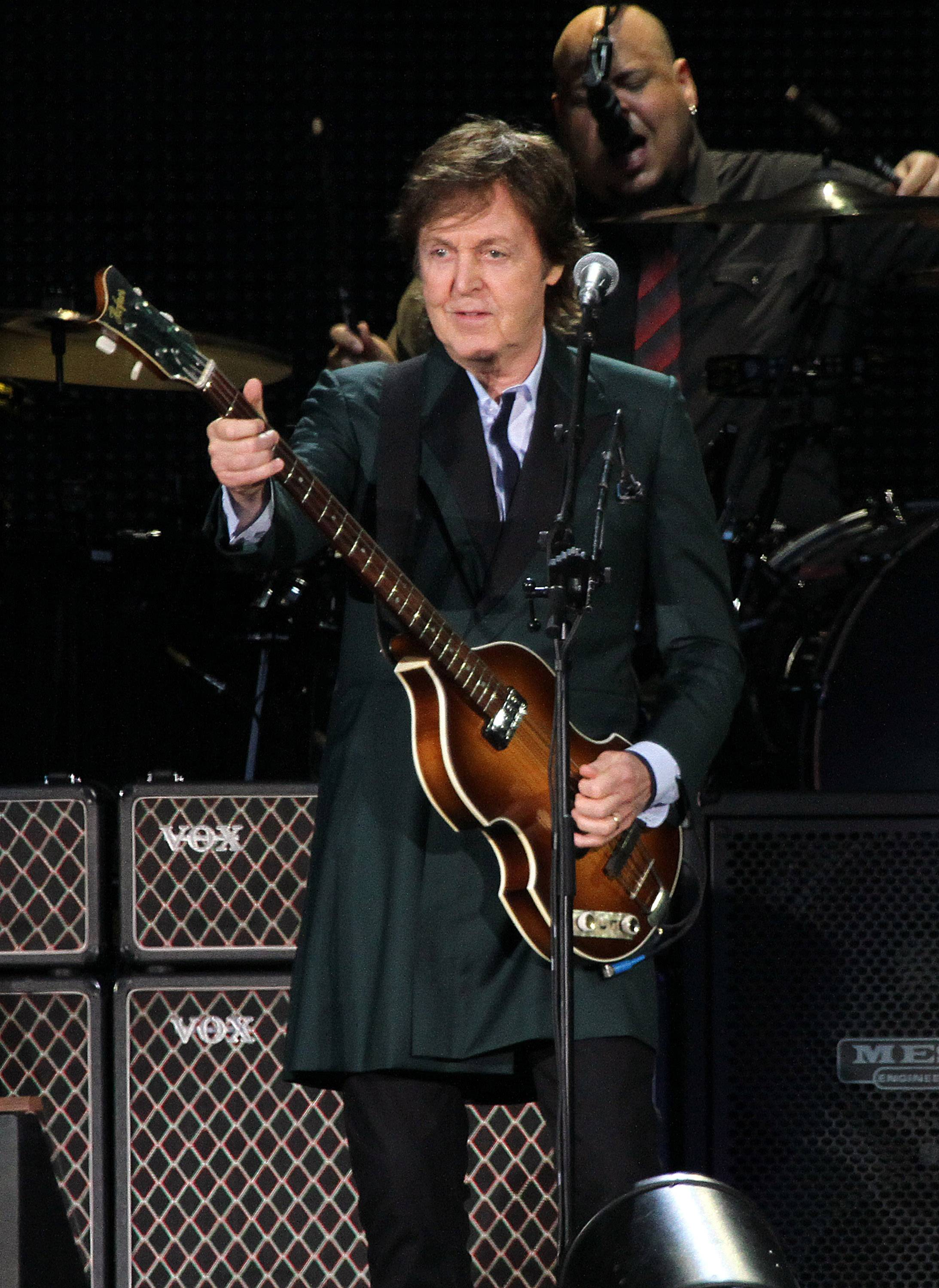 Paul McCartney announced Monday tour stops scheduled for mid-June will be postponed to October.