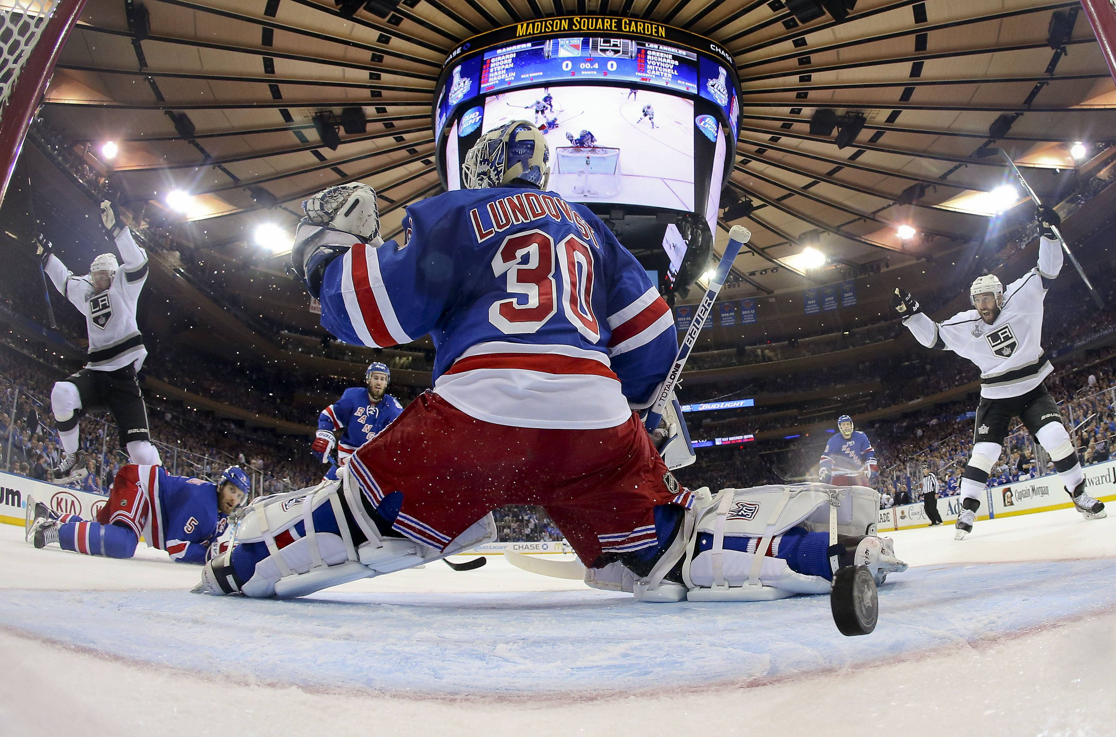 The New York Rangers are down 0-3 in the Stanley Cup Finals against the Los Angeles Kings. Game 4 is Wednesday night at Madison Square Garden in New York.