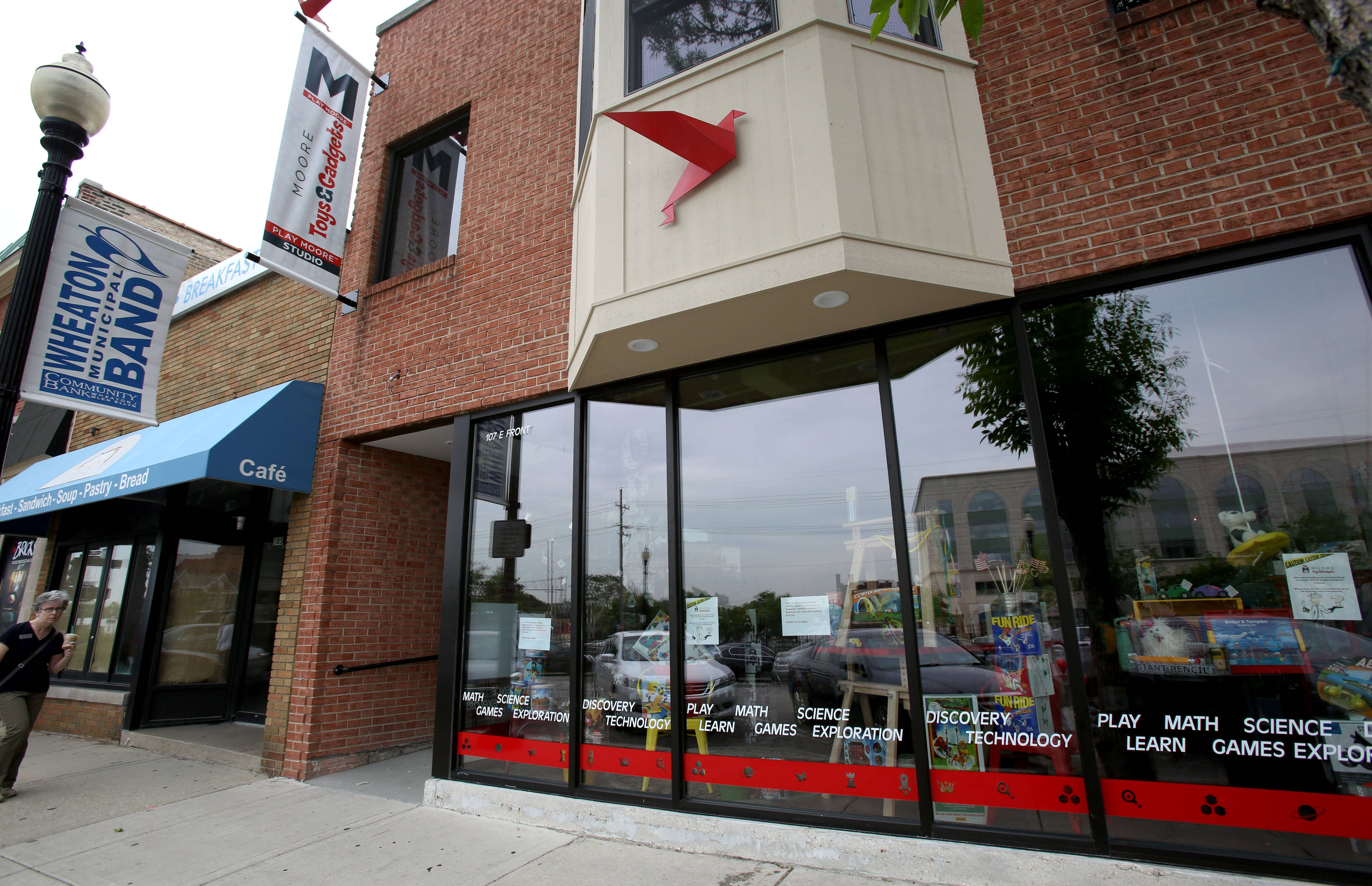 Moore Toys & Gadgets opened May 31 at 107 E. Front St. in downtown Wheaton.