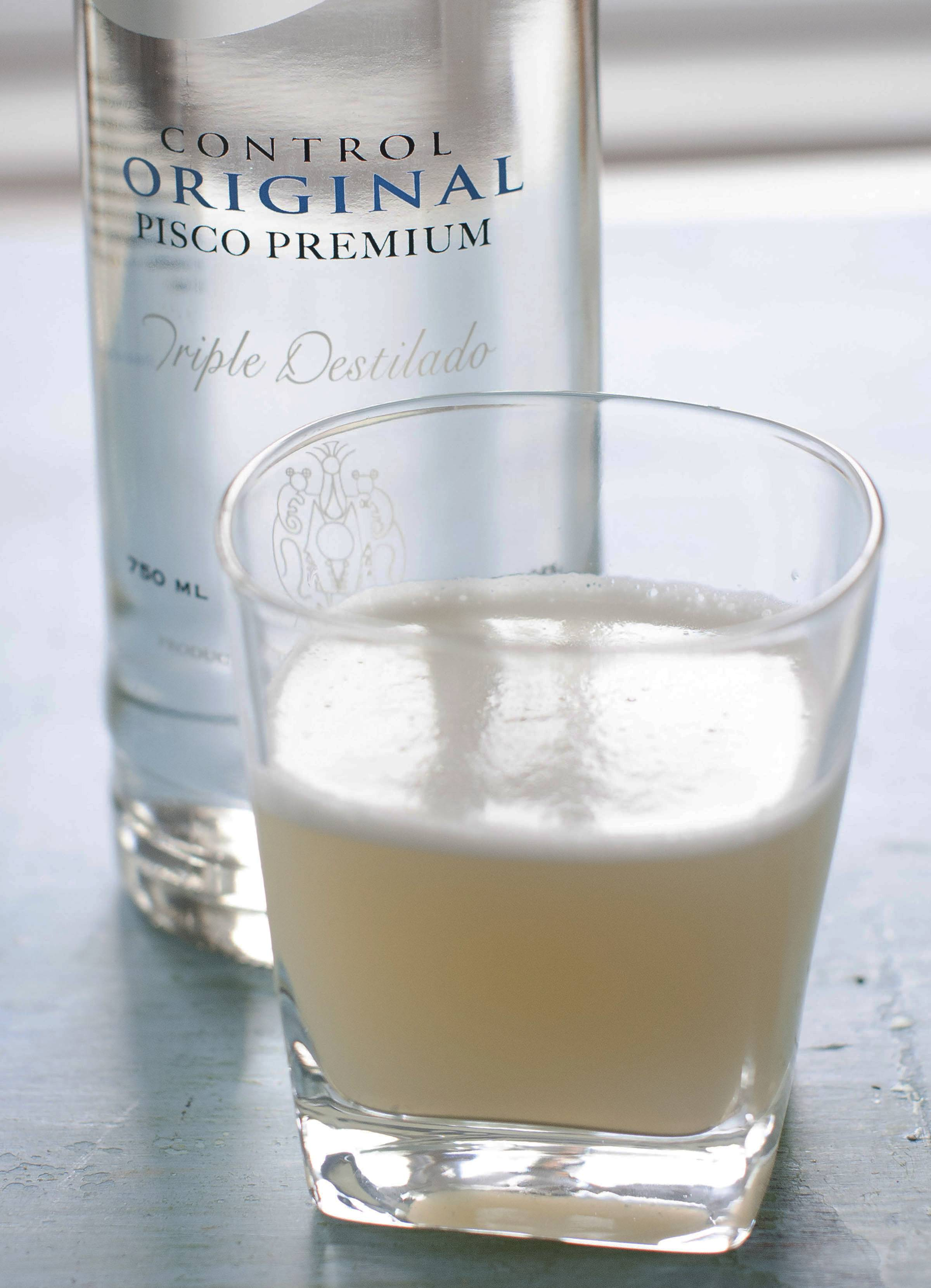 A pisco sour is a classic South American cocktail and perfect for toasting World Cup victories.