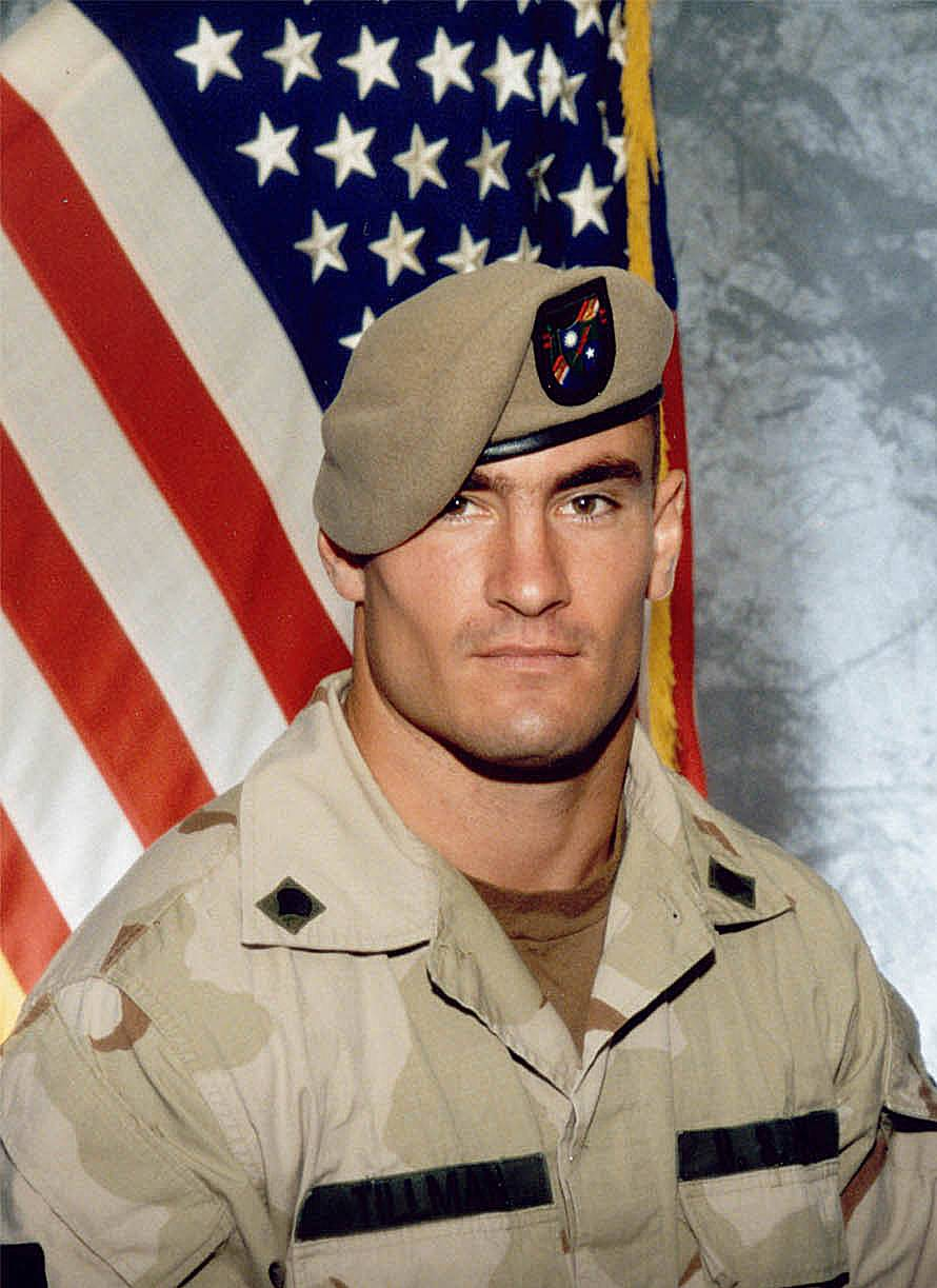 Former NFL player Cpl. Pat Tillman was serving in the 75th Range