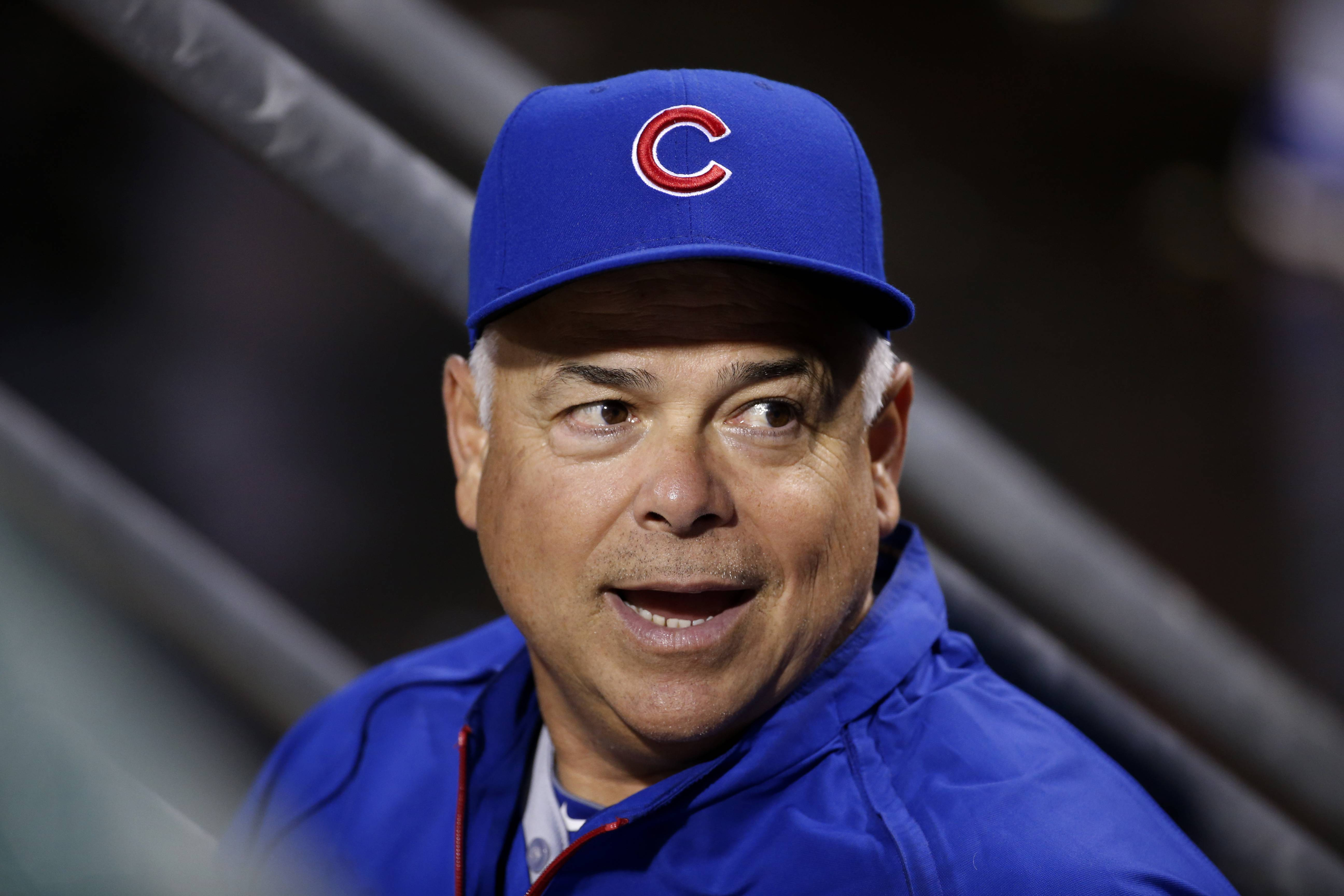 Cubs manager Rick Renteria has seen his offense provide more support lately for his starting pitchers.