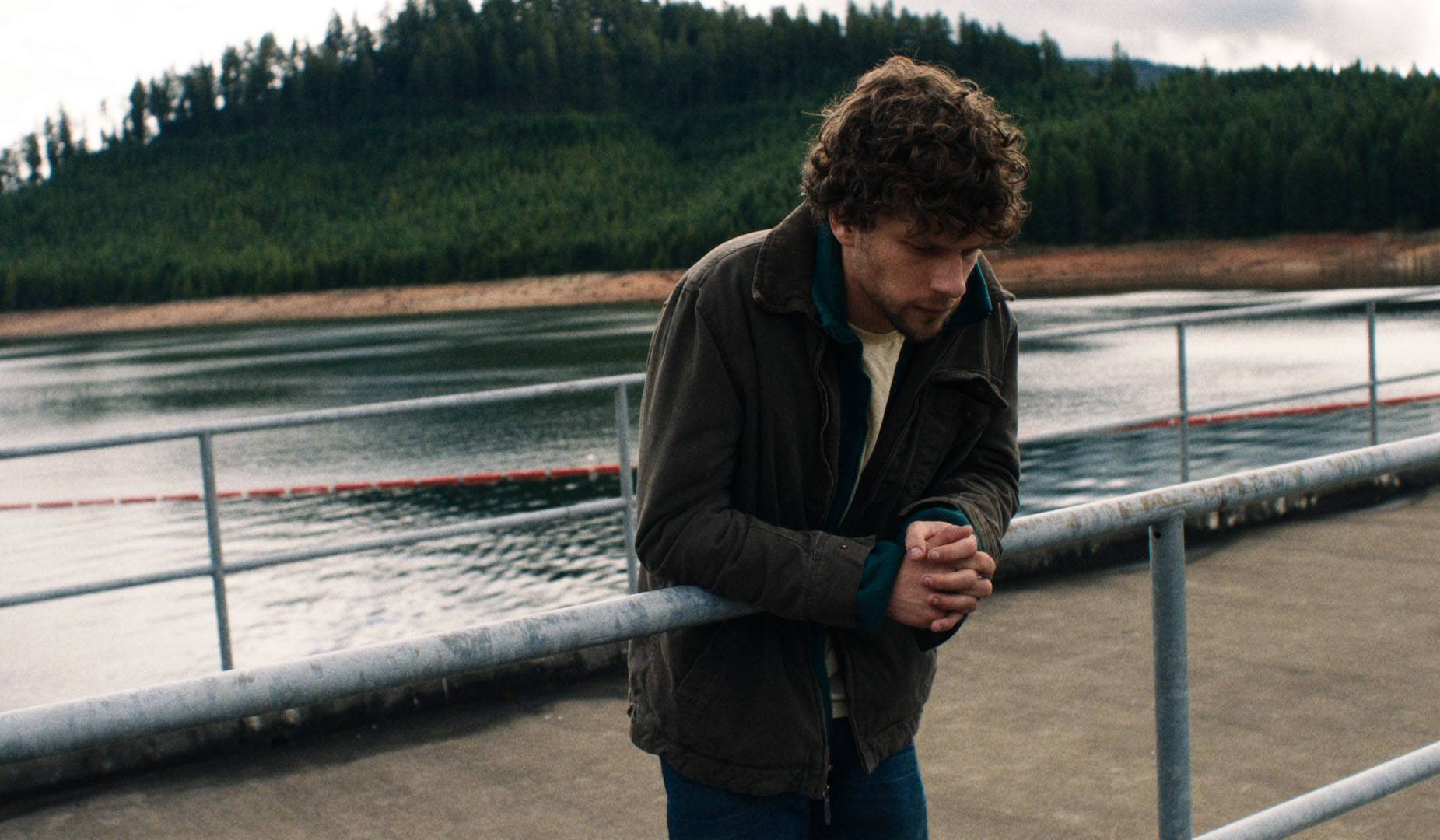 "Josh (Jesse Eisenberg) plots to blow up a dam — and then must live with the consequences — in ""Night Moves."""