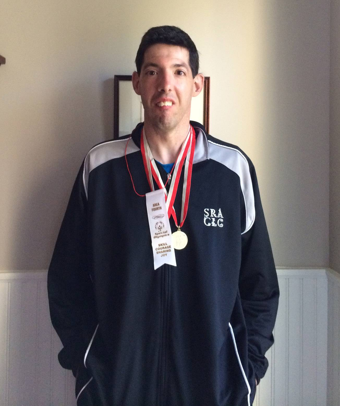 Switch to track and field pays off for Lincolshire Special Olympian