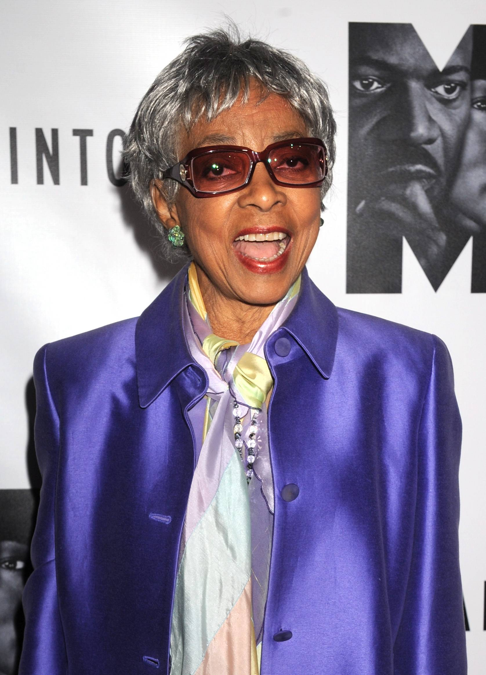 Ruby Dee, shown here in 2011, has died at age 91, according to her daughter.