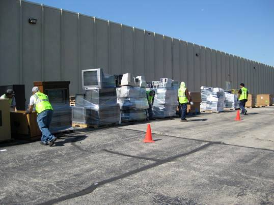 Electronics will be part of the Kane County recycling efforts Saturday in St. Charles.