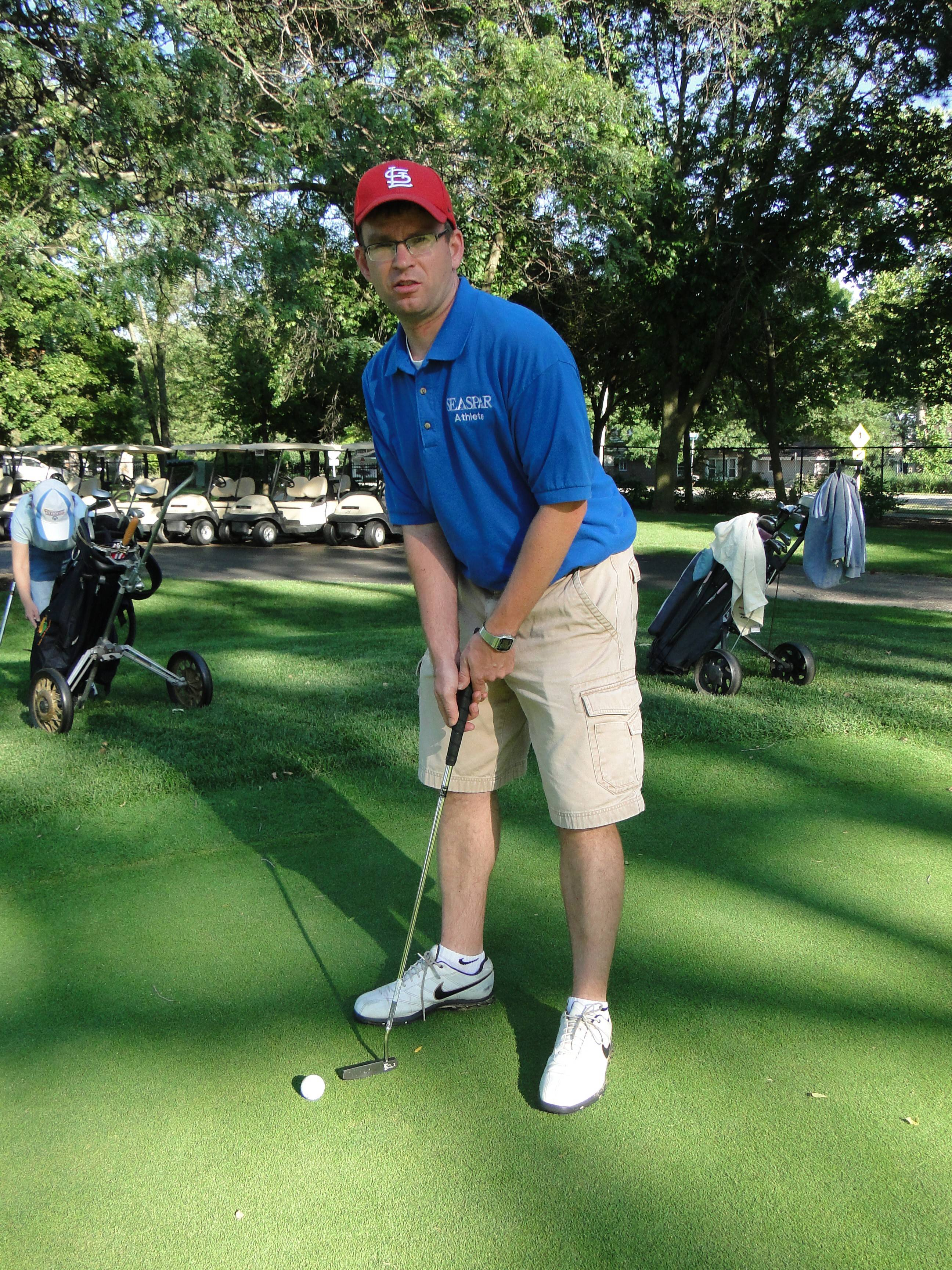 Jeff Osowski of Downers Grove will compete in the golf tournament at the Special Olympics 2014 USA Games next week in New Jersey.