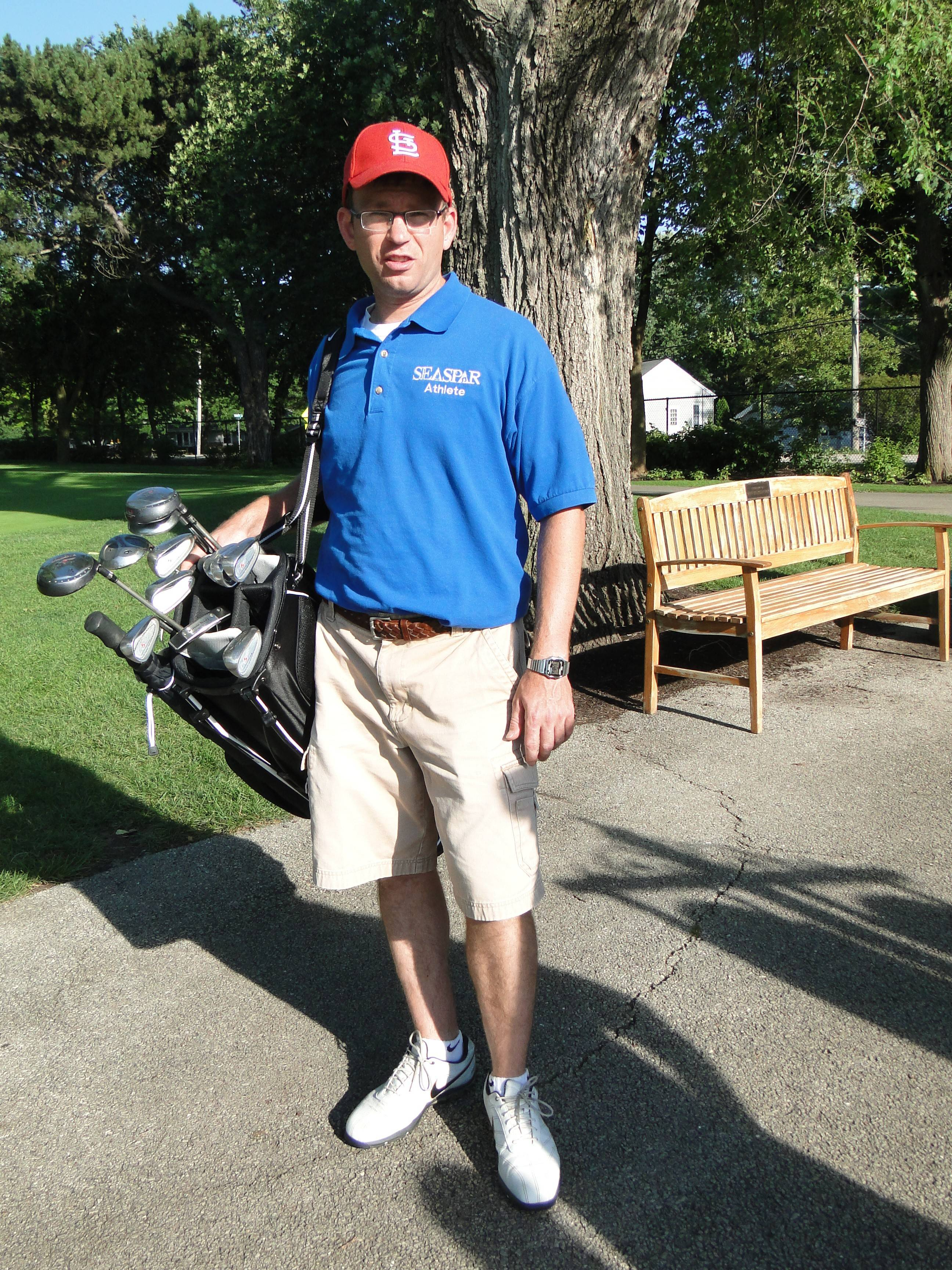 "Jeff Osowski says he was ""shocked"" when he learned he was selected to participate in the golf tournament as part of the Special Olympics 2014 USA Games -- but those who know him say he was the perfect choice."