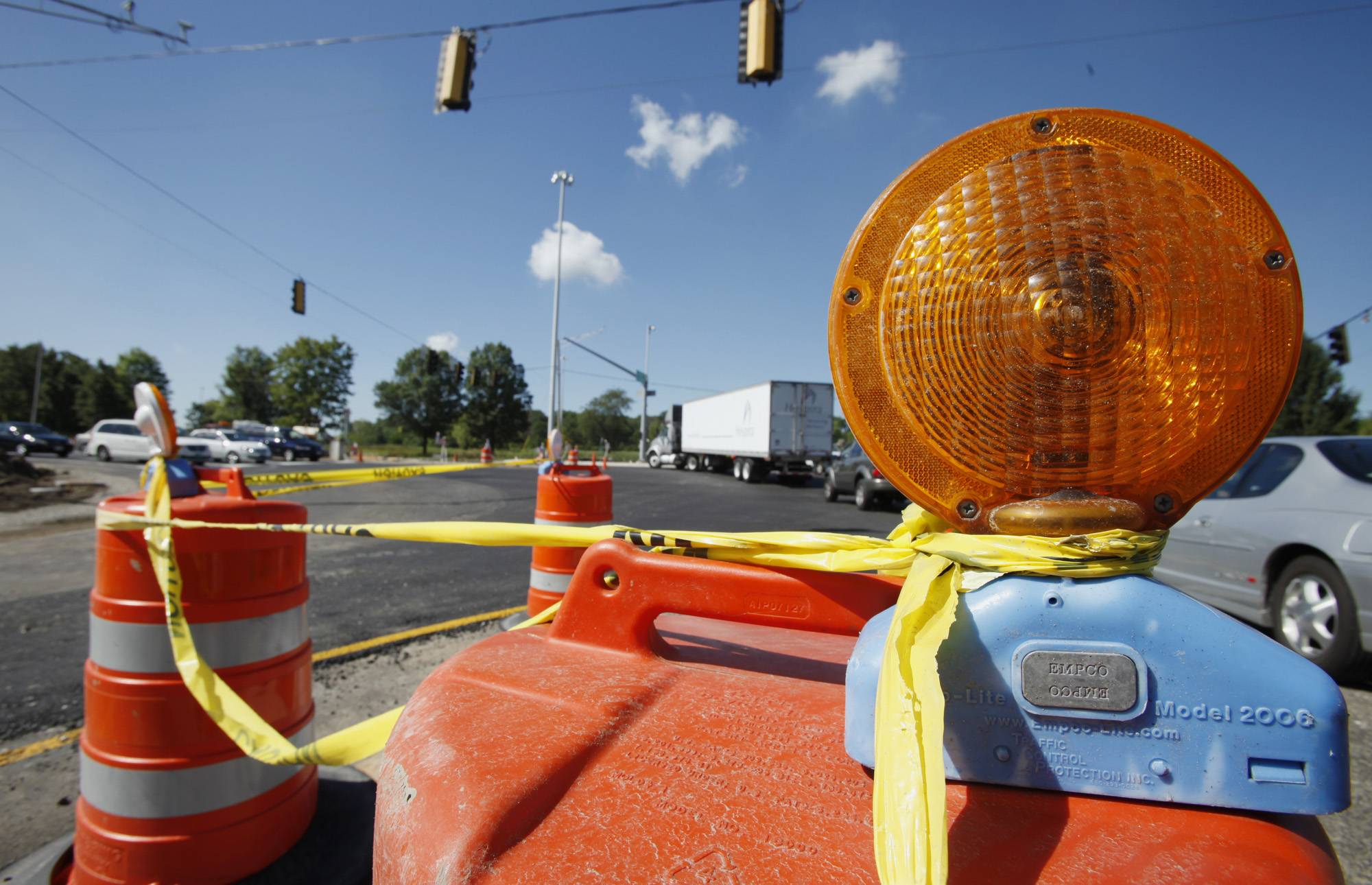 You may not like the sight of orange barrels as you drive around the suburbs during the summer, but you might want to get used to them. Up to 70 transportation improvement projects could come our way in 2015, according to a budget plan from the Kane County Division of Transportation.