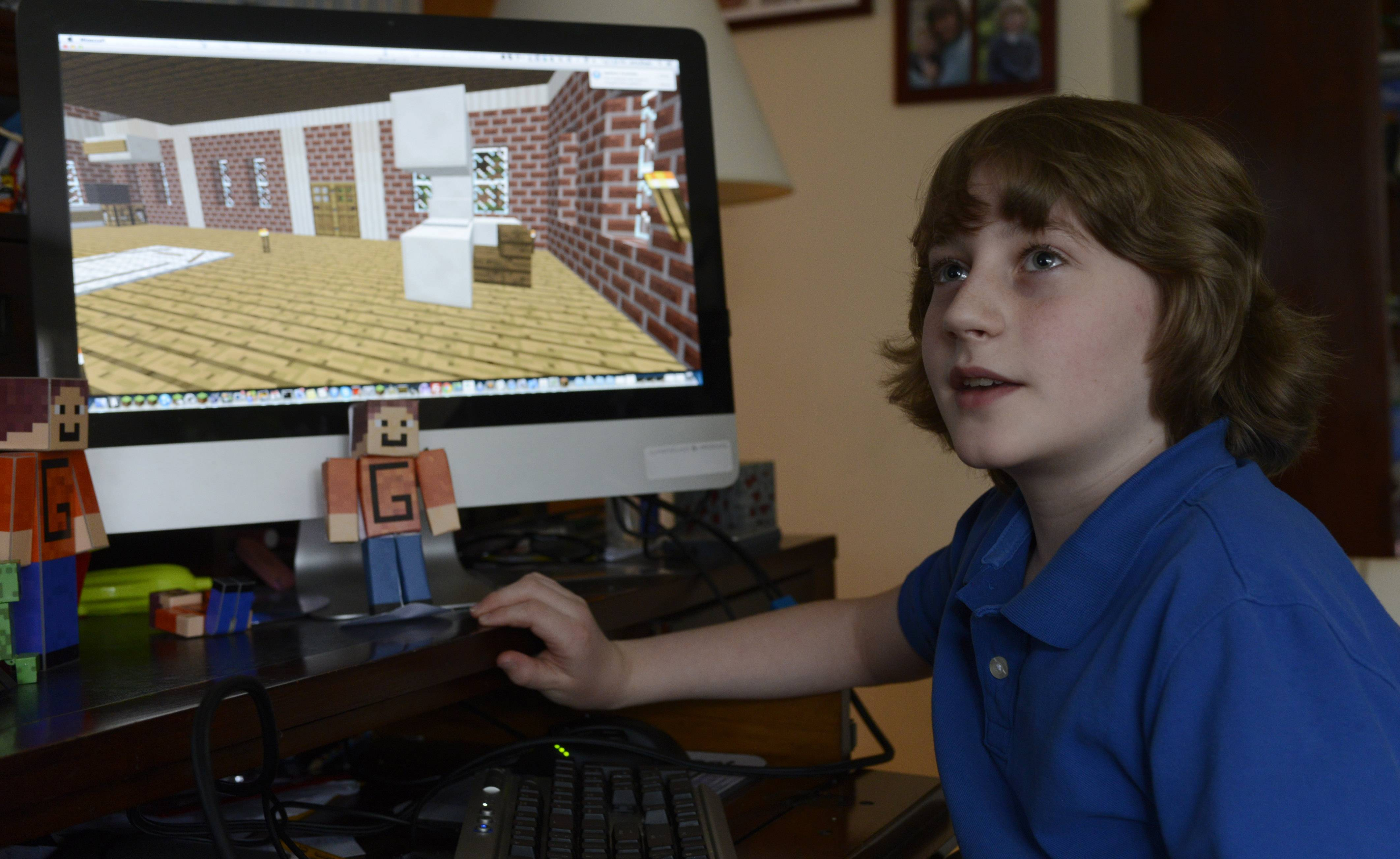 "Jake Mayer, 11, of Barrington is finishing up a sequel to his successful first novel -- at least when he's not playing ""Minecraft."""