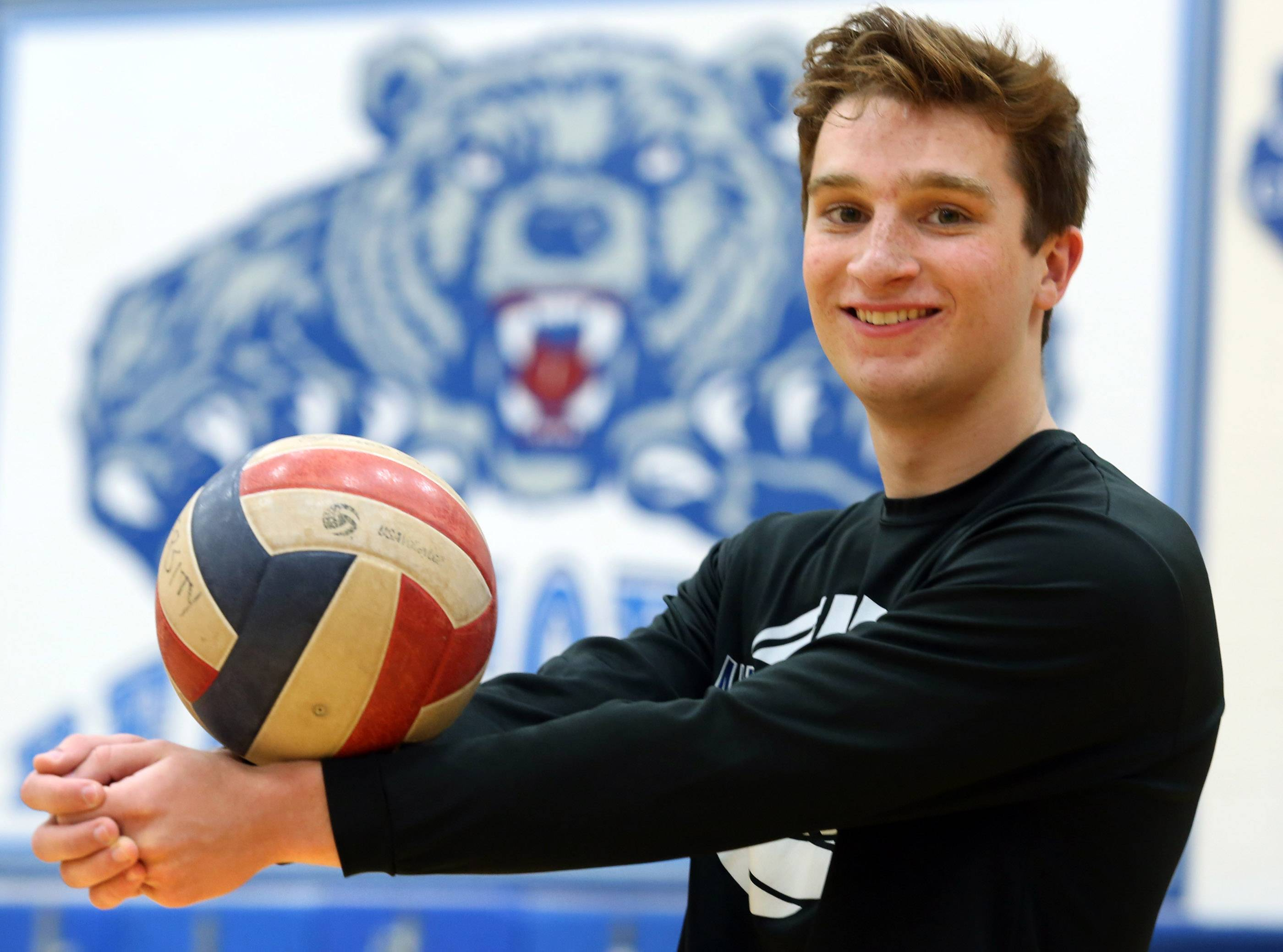 Senior standout Michael Savio helped put Lake Zurich on the volleyball map through a standout four-year career.