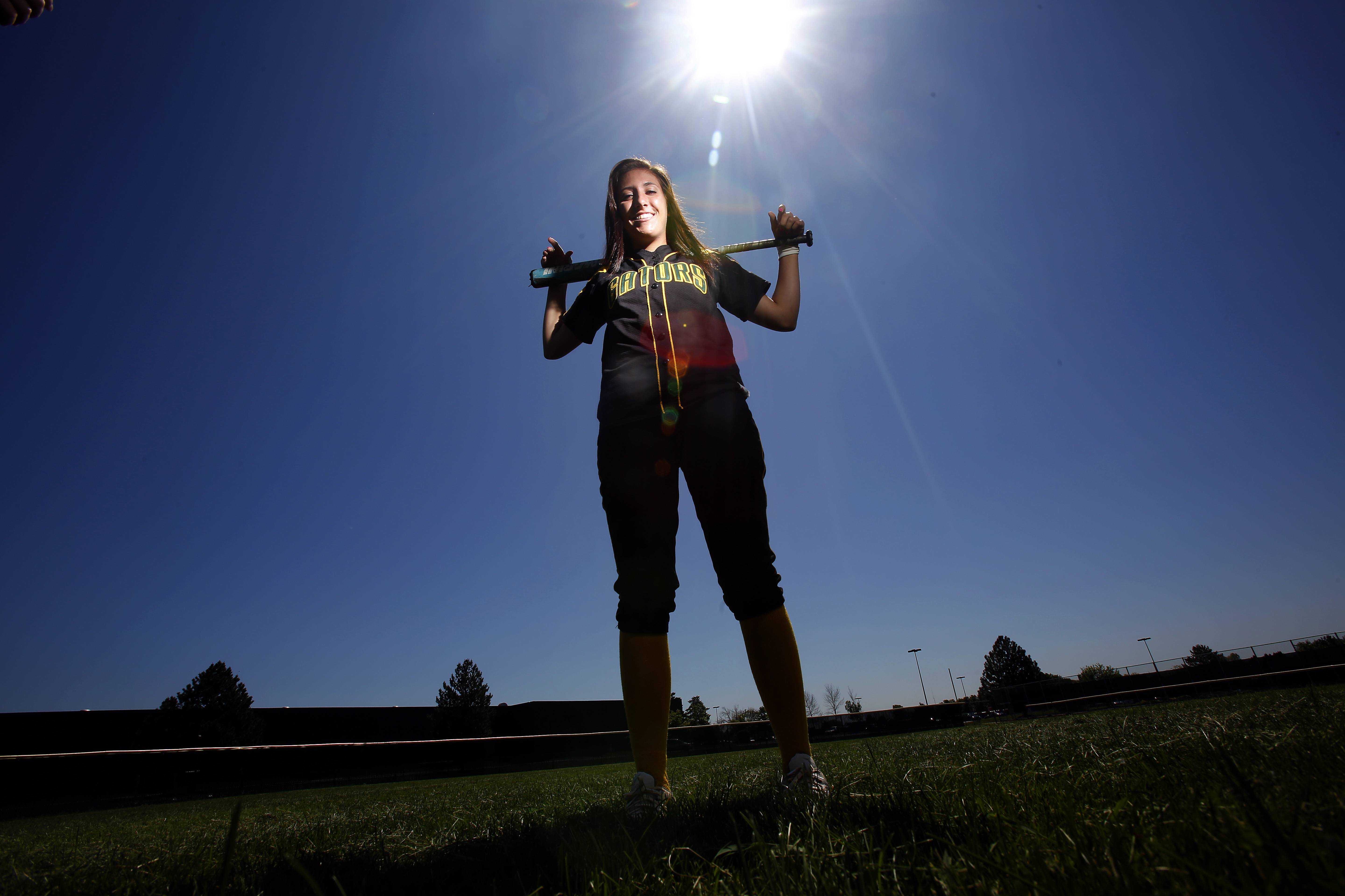 Fox Valley all-area softball captain Crystal Lake South's Sam McLean.