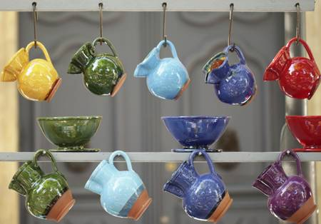 Pottery will be among the many offerings displayed by 350 artisans during the Schaumburg Township Library's bus trip to Custer's Last Stand Festival of the Arts in Evanston. Unknown