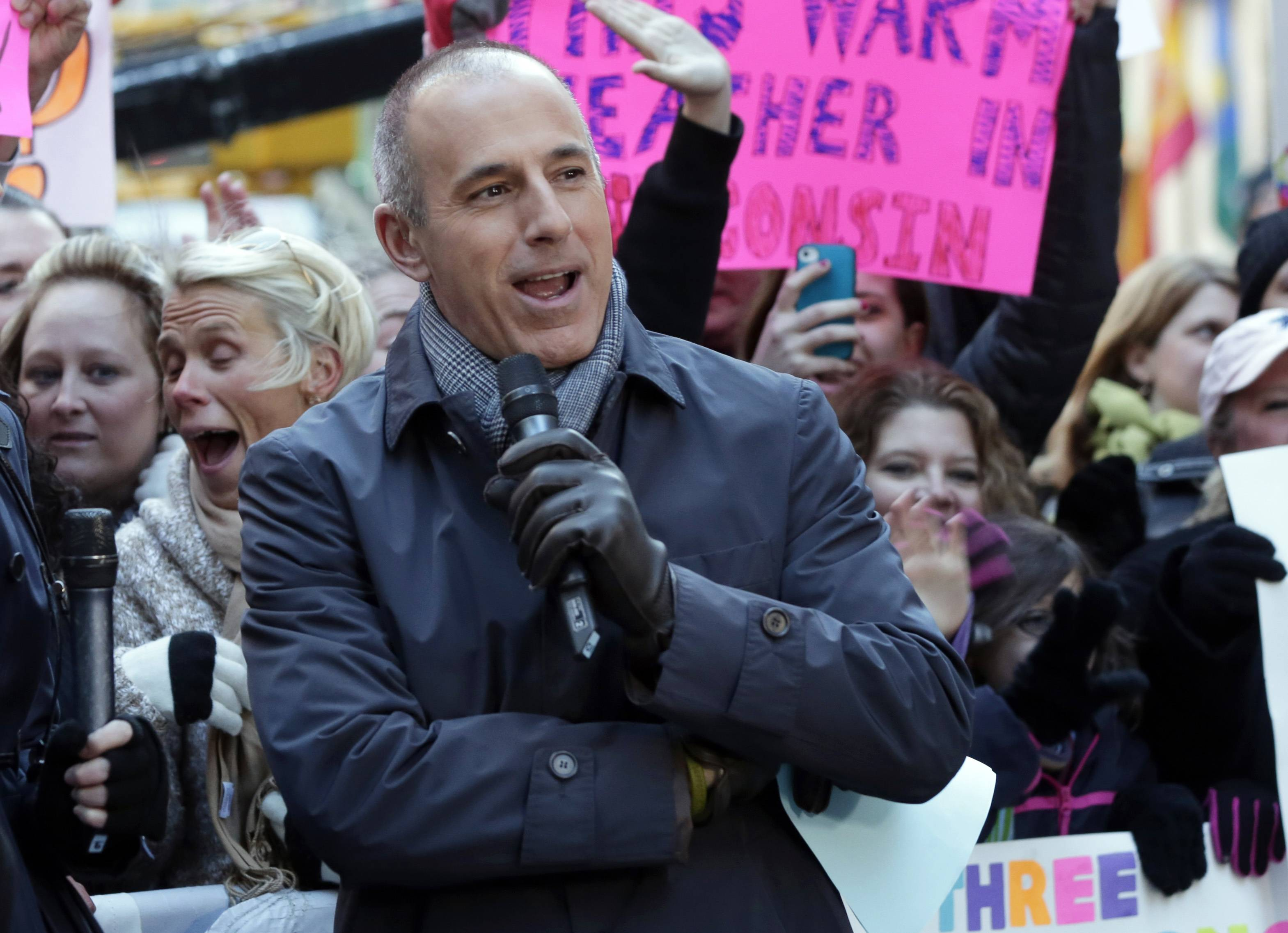 "Matt Lauer, co-host of the NBC's ""Today"" show, has agreed to a contract extension for multiple years, although NBC would not specify how long."
