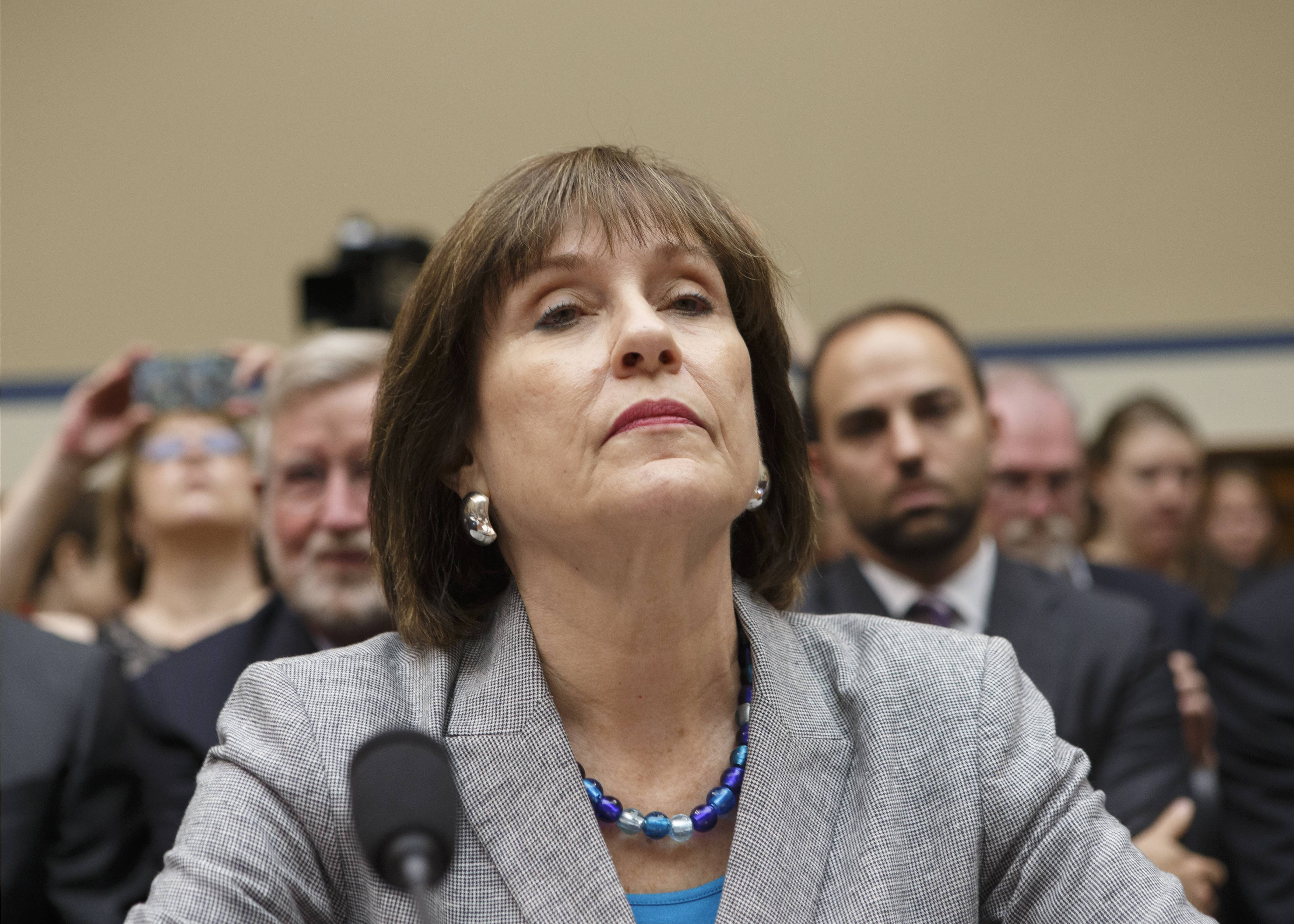 Internal Revenue Service official Lois Lerner on Capitol Hill in Washington. The IRS says it has lost a trove of emails to and from Lerner's emails prior to 2011 because her computer crashed that year.