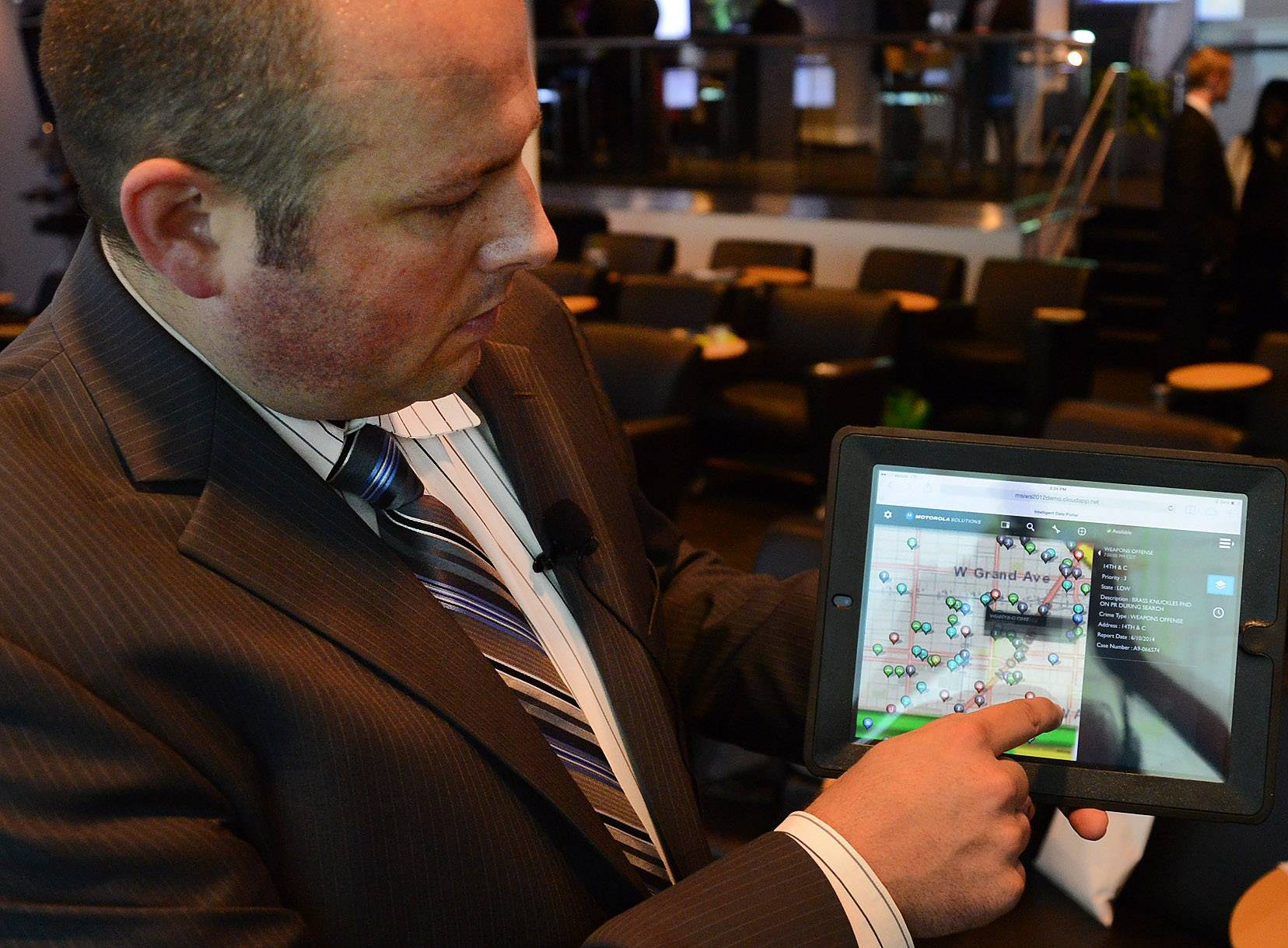 New Motorola Solutions product maps, analyzes data for emergency responders