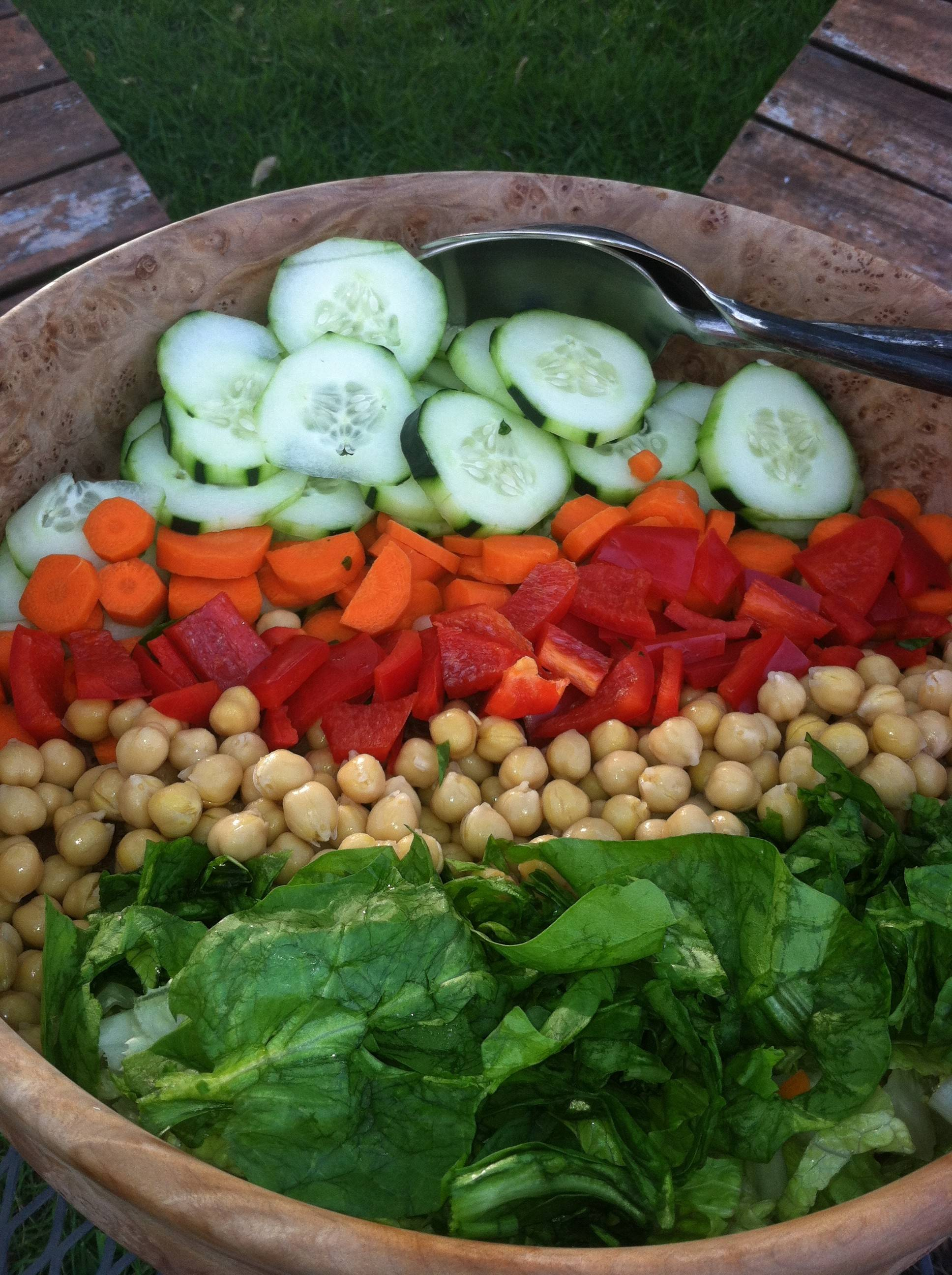 A Portillo's-like dressing makes this simple summer salad spectacular.