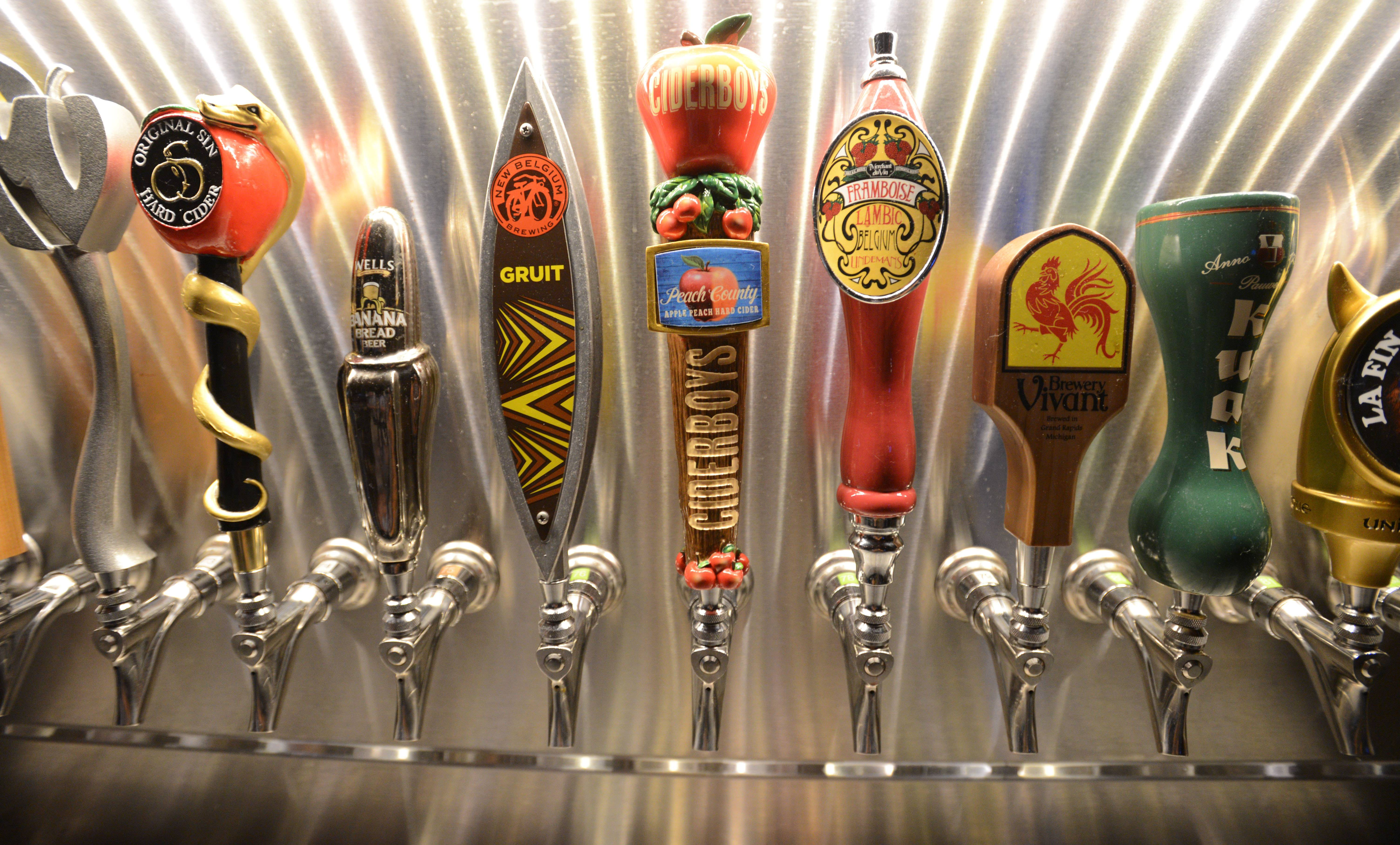 Old Town Pour House in Oak Brook has 90 beers on tap.