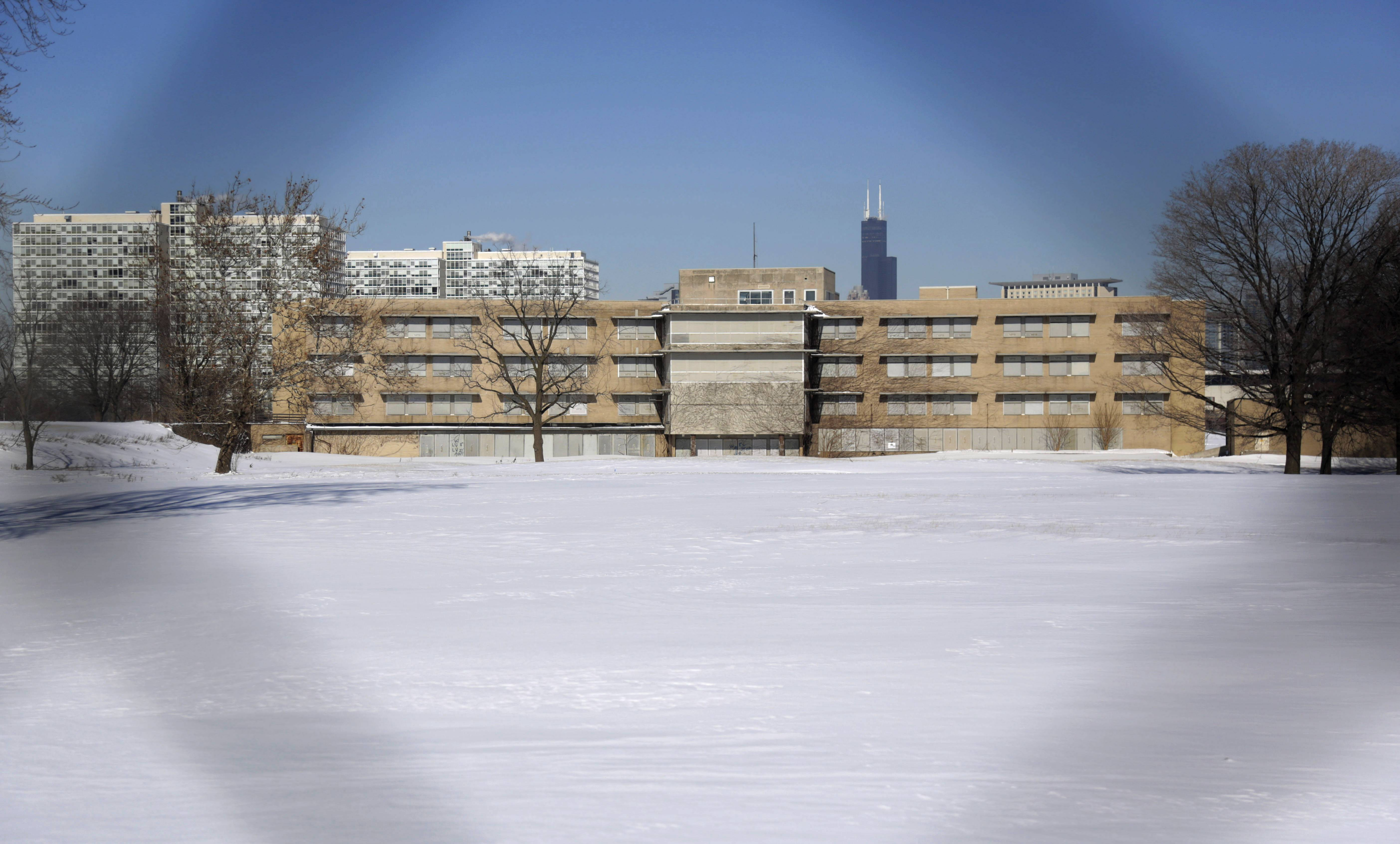 The area that once housed Michael Reese Hospital in the Bronzeville neighborhood is a potential site for a Barack Obama presidential library. Bronzeville is the city's historic center of black culture, business and politics.