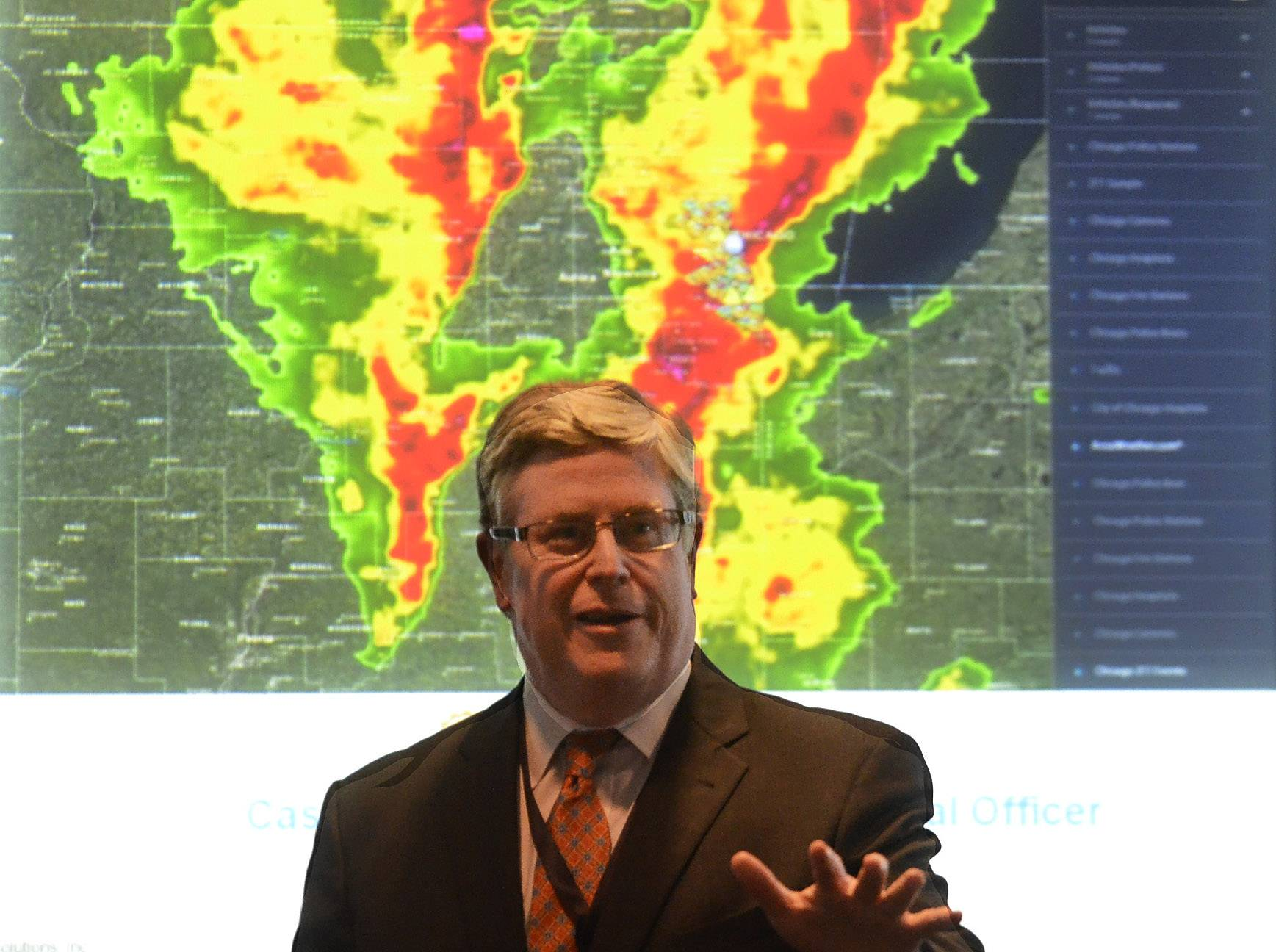 AccuWeather Chief Commercial Officer Casey McGeever explains how Motorola's new Intelligent Data Portal software better prepares responders for natural disasters.