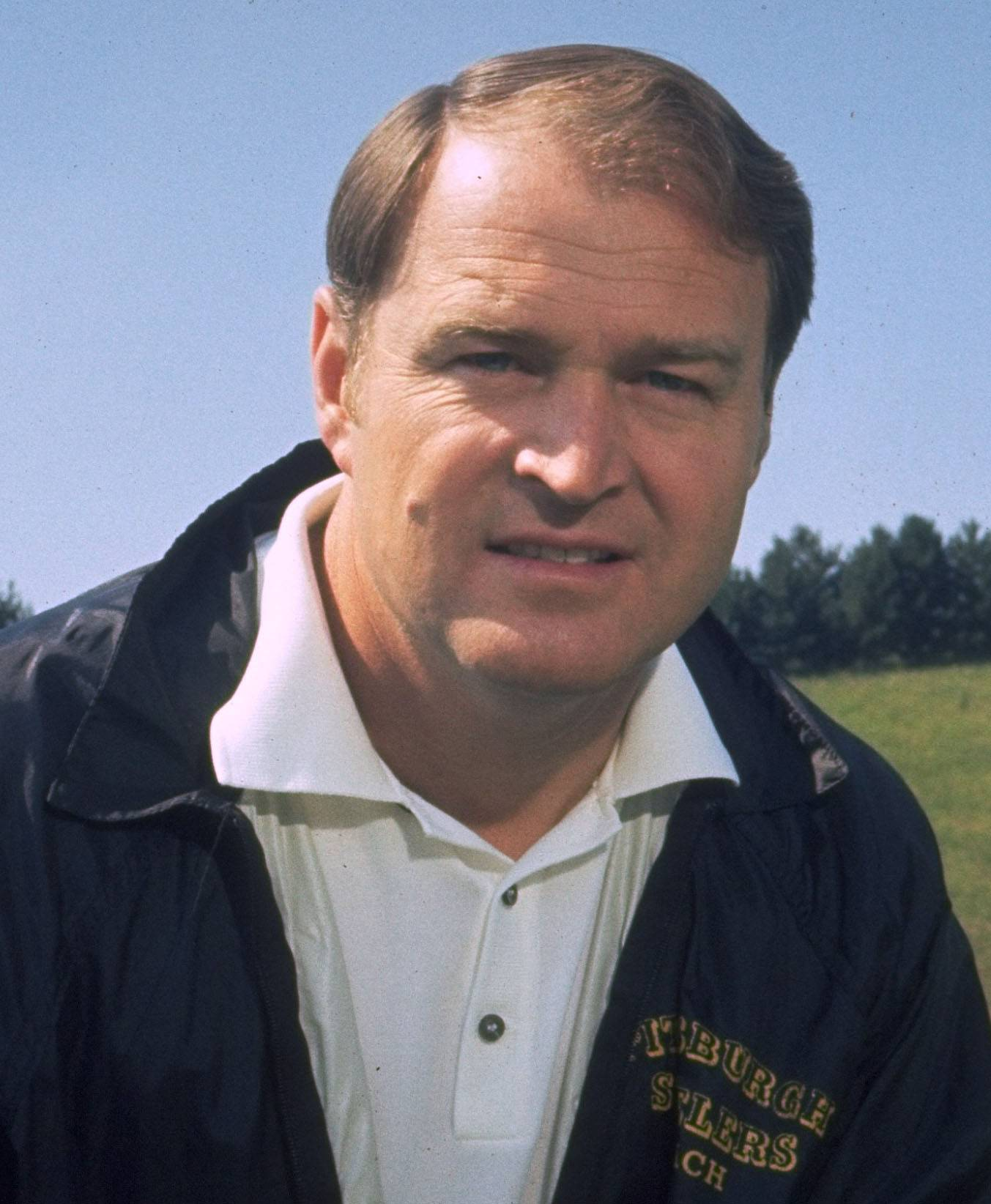 Former Steelers coach Chuck Noll in 1971