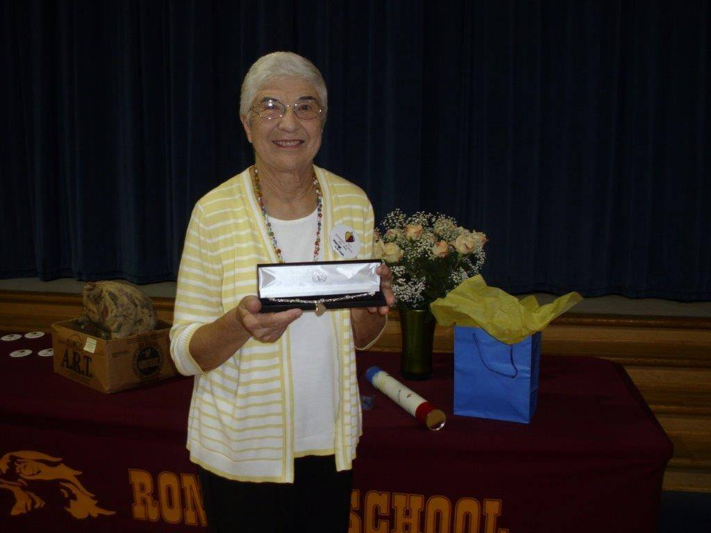 Marge Loizzo has served on the Rondout District 72 school board for 40 years