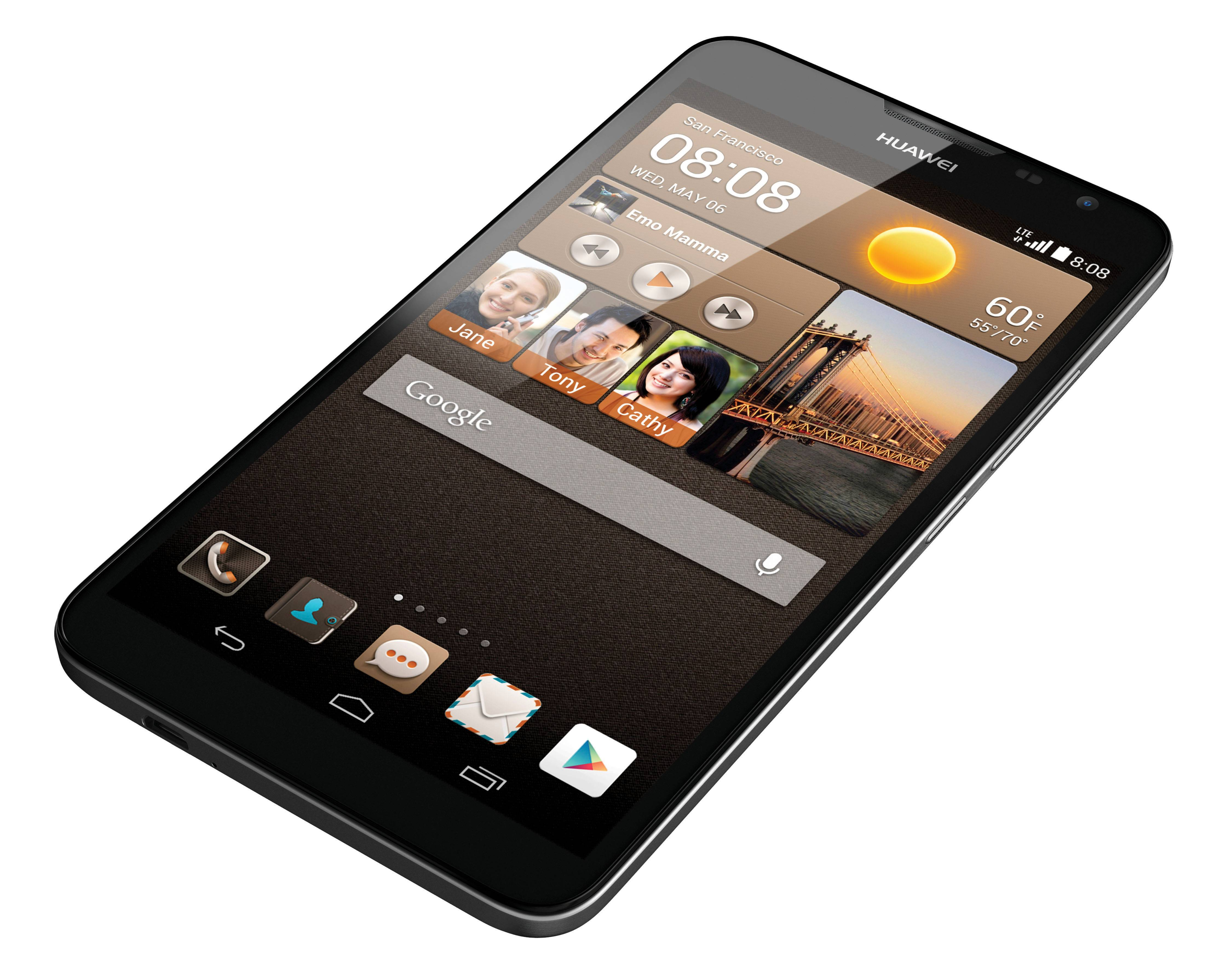 This undated product image provided by Huawei shows the Ascend Mate 2.