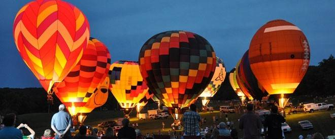 Eagle Ridge Resort & Spa hosts the largest balloon race in the Midwest June 20-22.