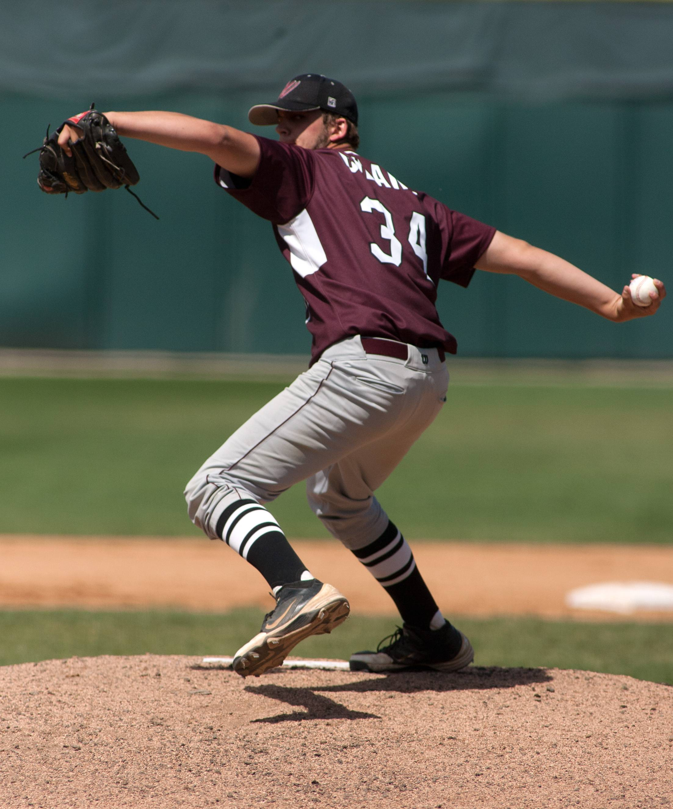 Prairie Ridge's Dustin Thelander delivers against South Elgin during the Class 4A third-place game at Silver Cross Field in Joliet.