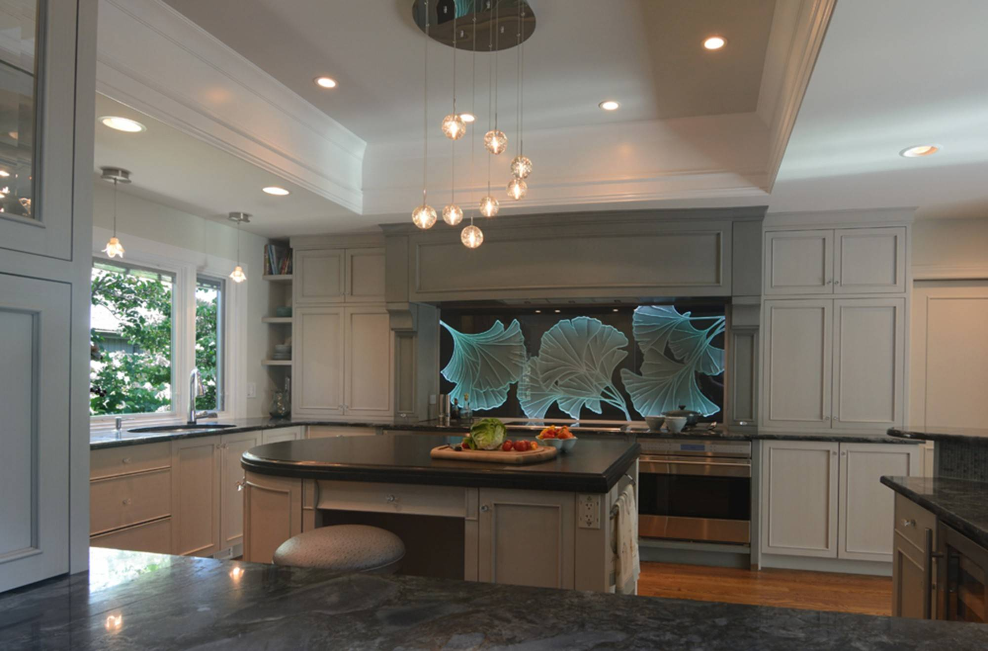 Gray Color Schemes Will Dominate In 2014 Kitchen Design. Pictured Here Is  The 2014 NKBA