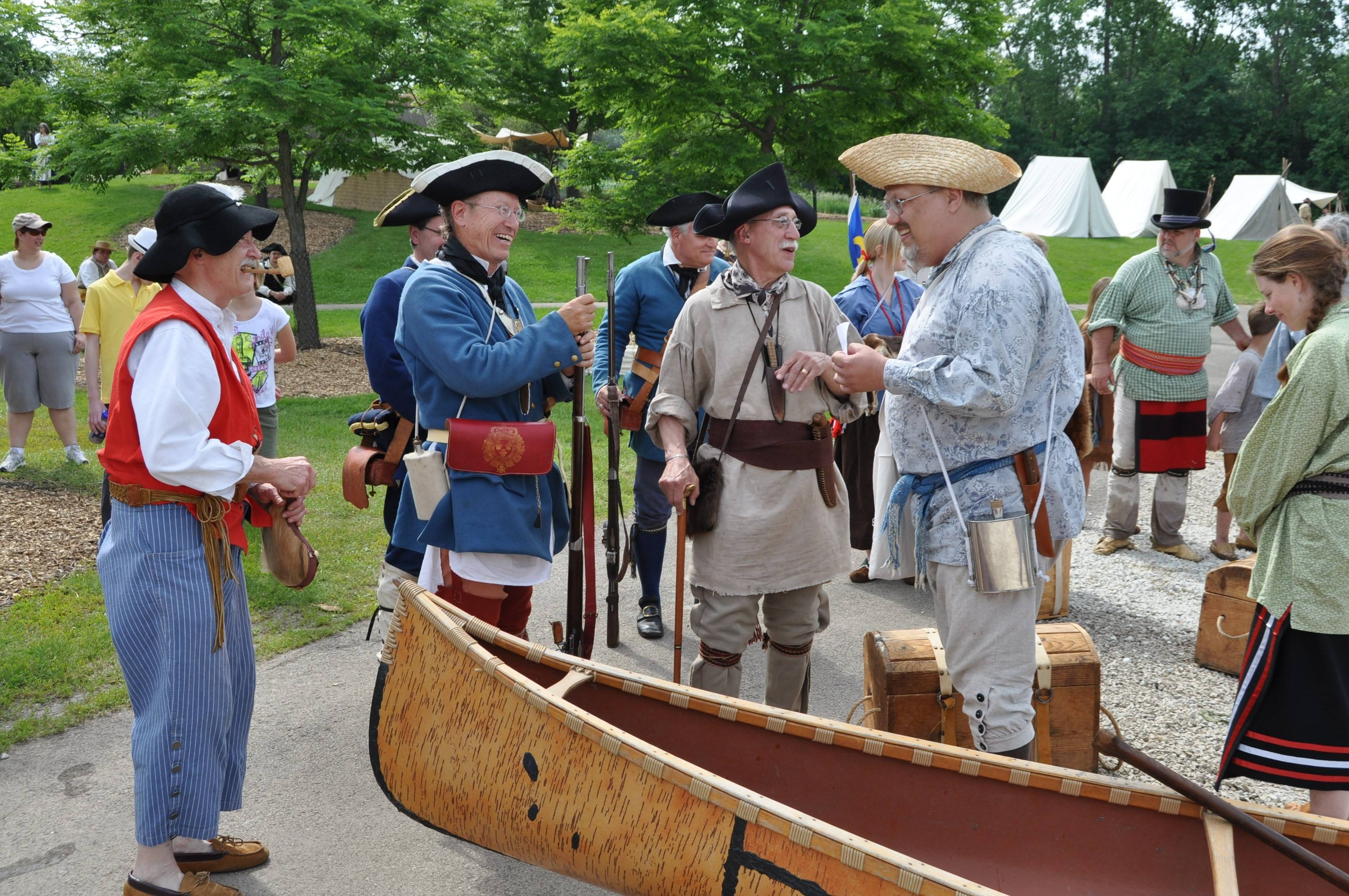 The Forest Preserve District's Island Rendezvous returns to the Isle a la Cache Museum, in Romeoville.