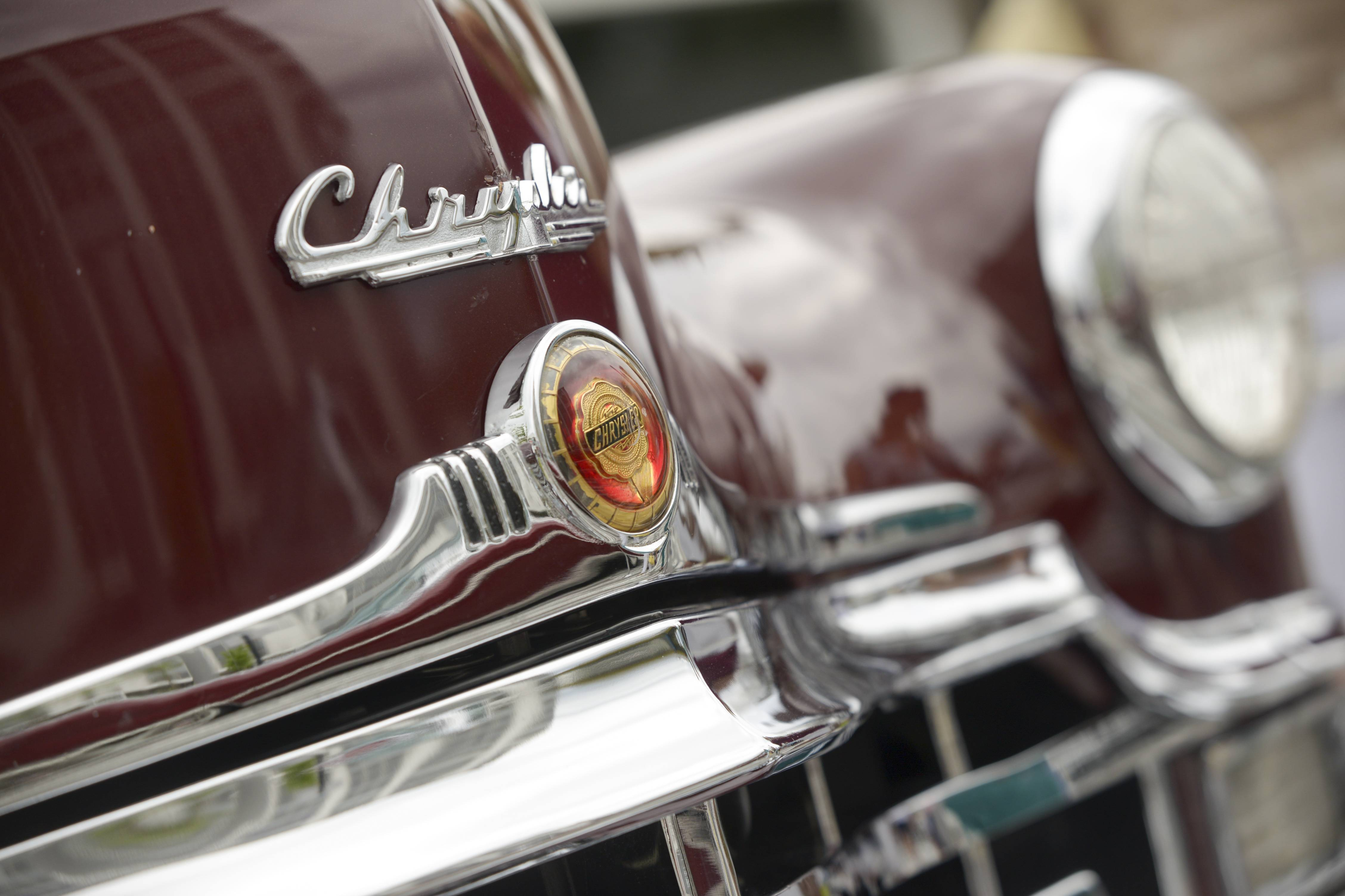 A 1949 Chrysler Town and Country was among the attractions at the 46th annual Father's Day Classic Car Show Sunday at Oakbrook Center.