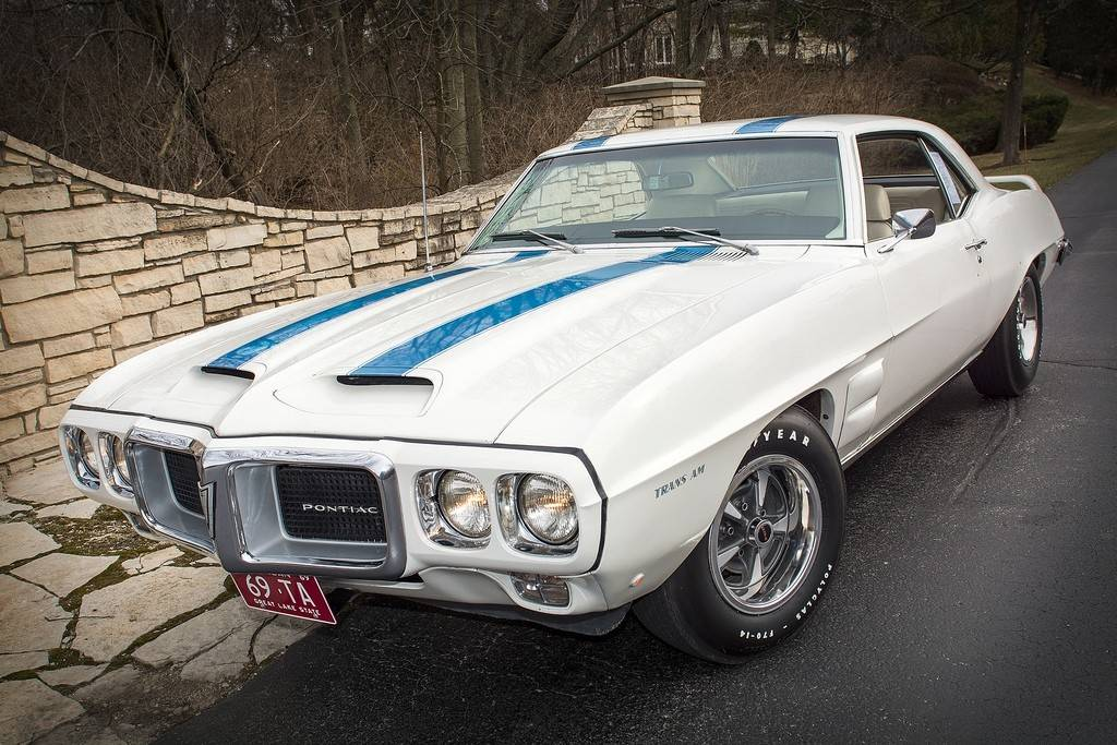 The very first Pontiac Trans Am rolled off the assembly line in 1969. Only 697 Trans Ams were produced that first year.