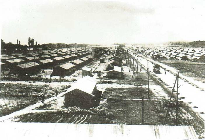 Camp de Gurs, the internment camp in France where Kurt, his mother and grandfather were held during World War II.