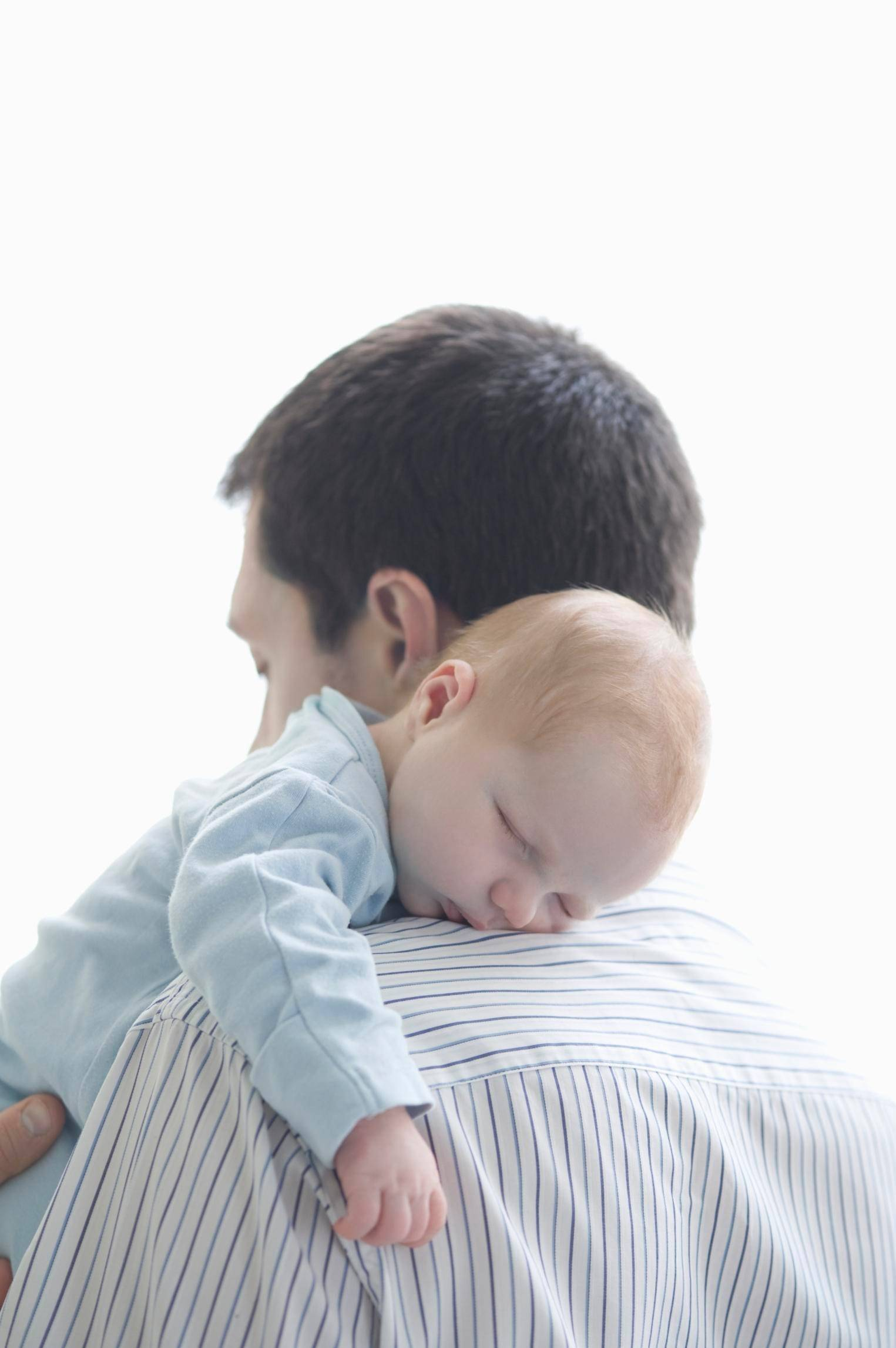 New fathers want to spend some time home with baby, but not at the expense of a paycheck.