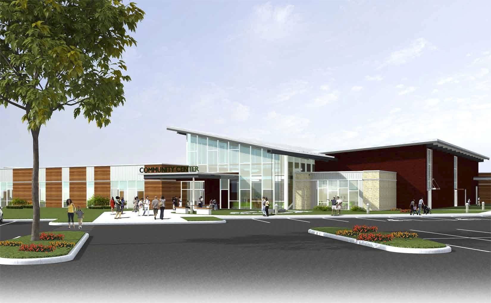 The DuPage County Health Department wants to build a community center at 111 N. County Farm Road that would house offices, a 24-hour care center and the headquarters for the DuPage County chapter of the National Alliance on Mental Illness.