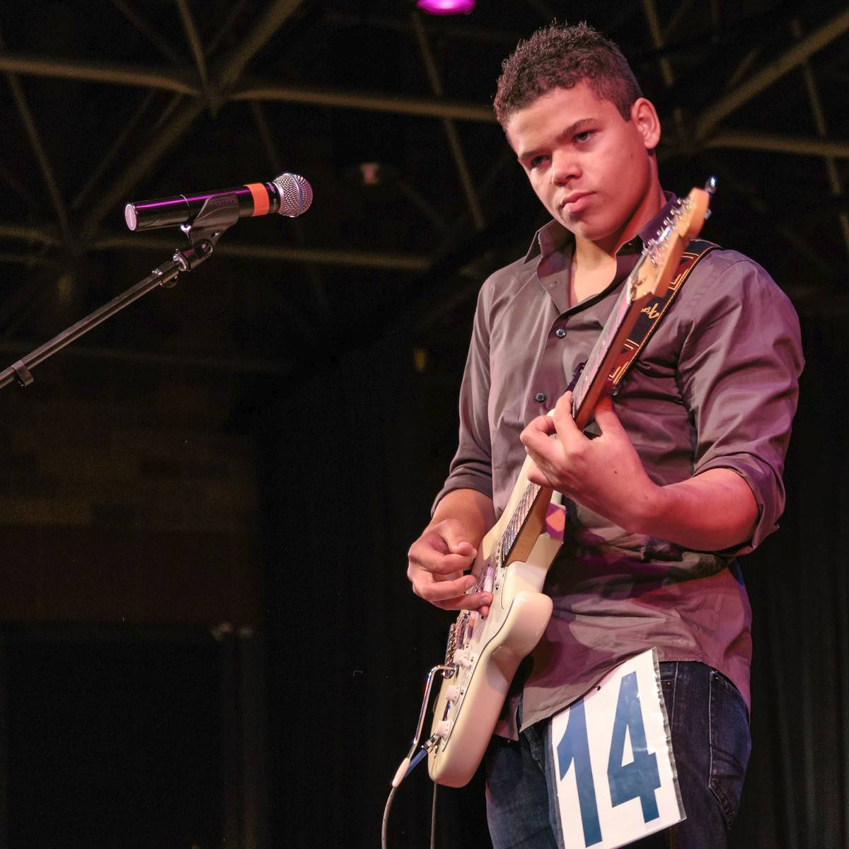 The 2013 talent winner, Jake Julian of Aurora, a Waubonsie Valley High School student, is the guest performer at this year's show.