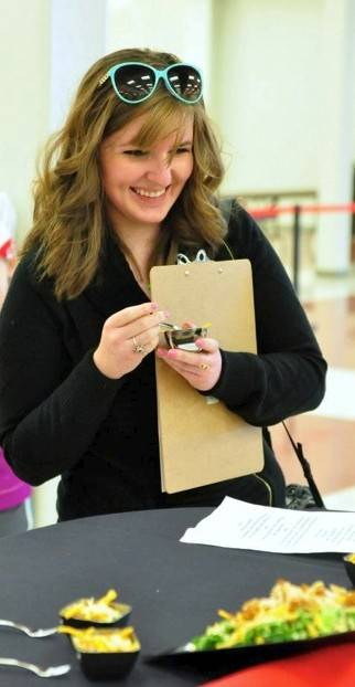 Sarah Ewing, a Barrington High School graduate who started a culinary arts club at the school, recently was invited back to judge a cooking contest. She has since taken her passion and found unique ways to share it with others.