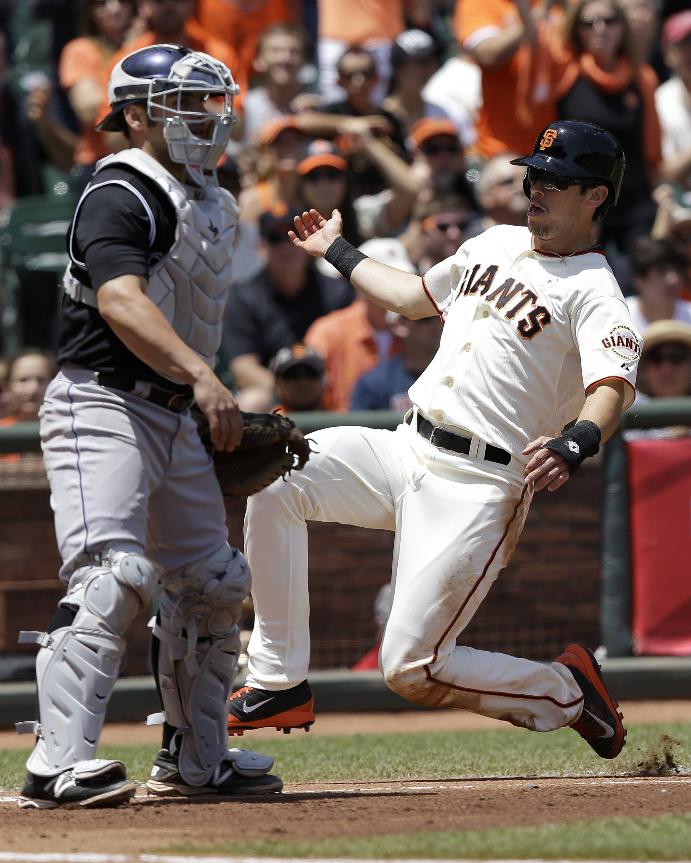 "Former Cubs player Tyler Colvin says ""I've learned a lot the last few years. I definitely got to experience a bunch of different things. Just to go through that makes me a better person, a better ballplayer. Colvin is now a member of the San Francisco Giants."