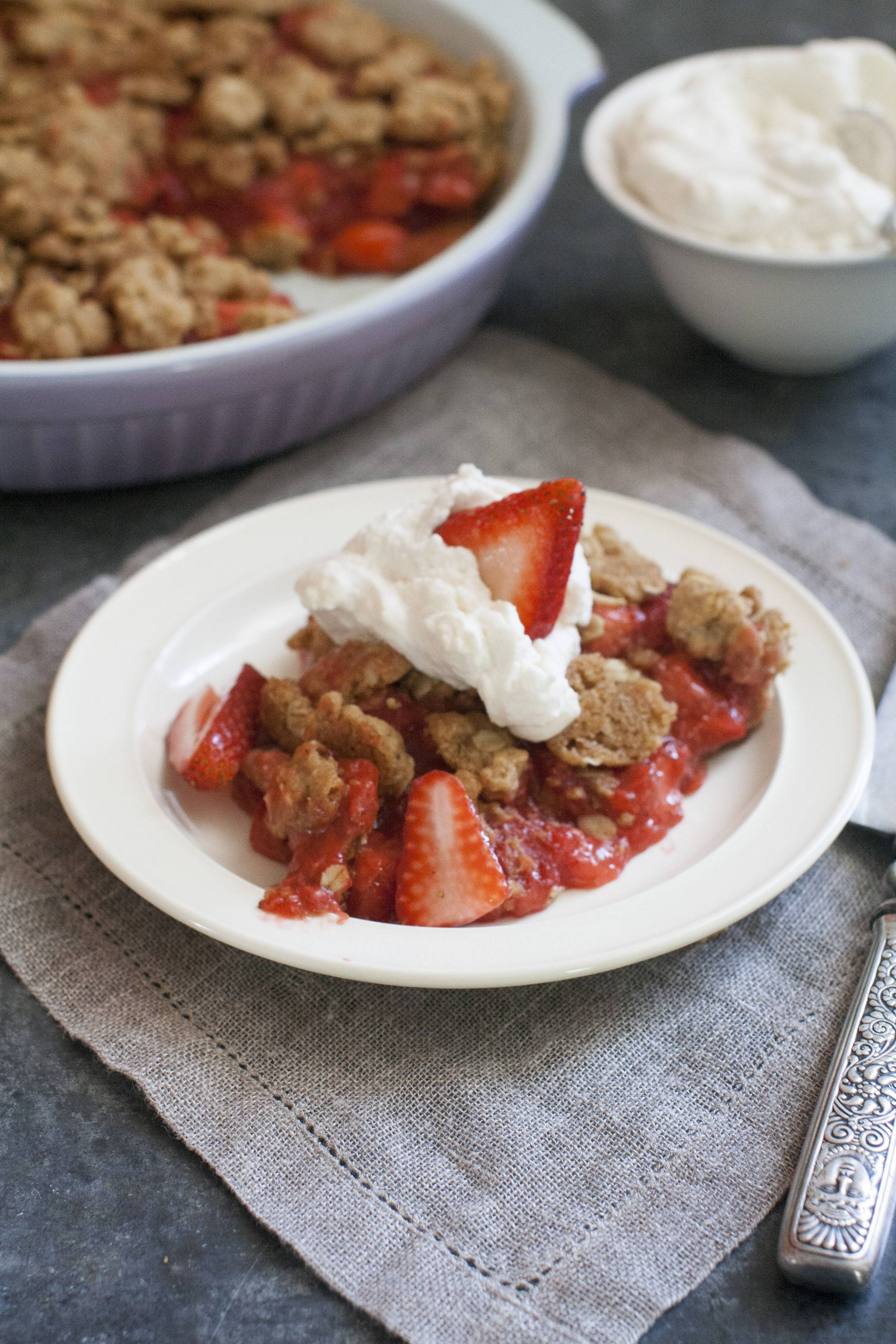 Strawberry Pistachio Torte is a deliciously easy was to showcase the season's brightest berries.