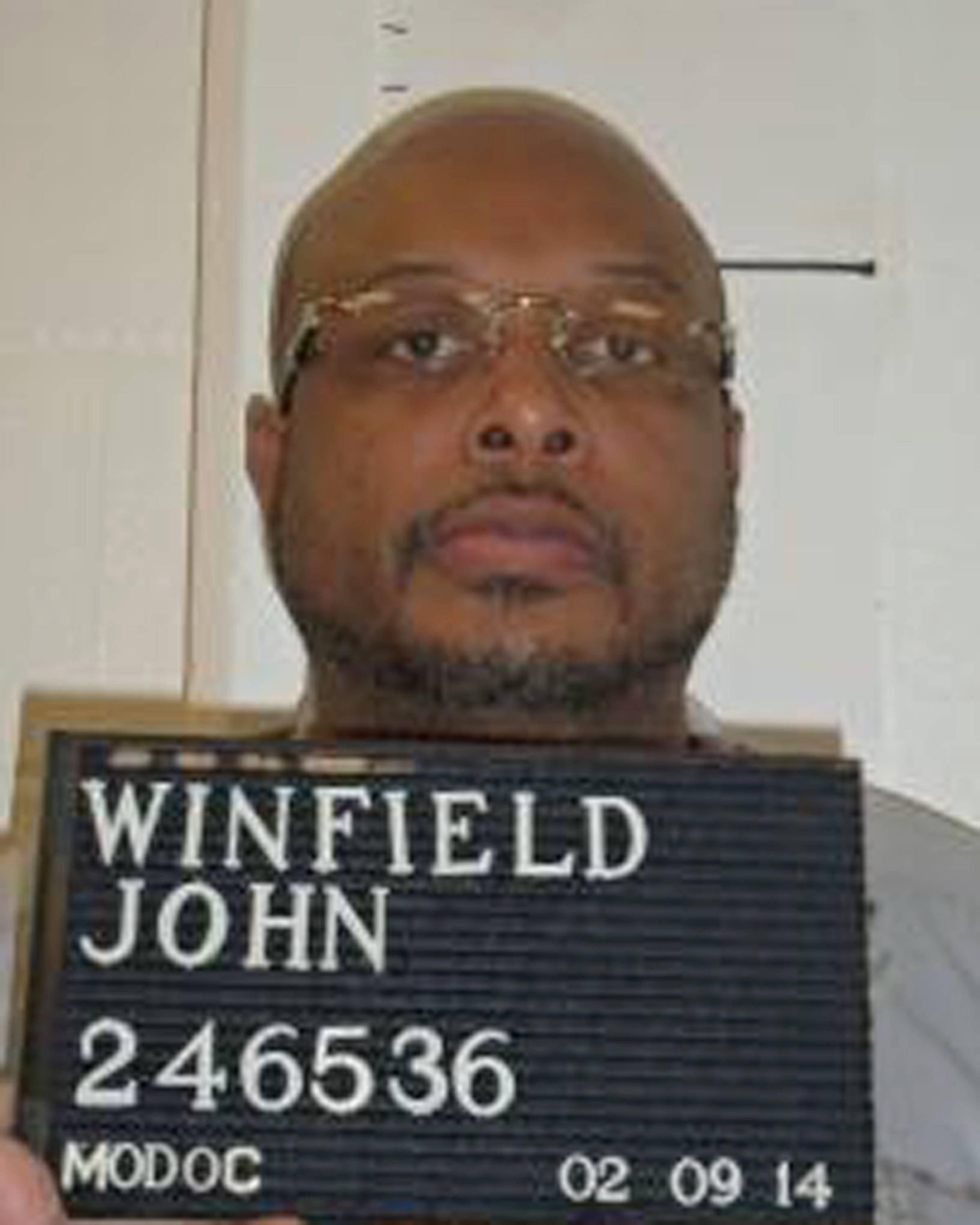 John E. Winfield was the second inmate put to death in the United States since a botched execution in Oklahoma in April.