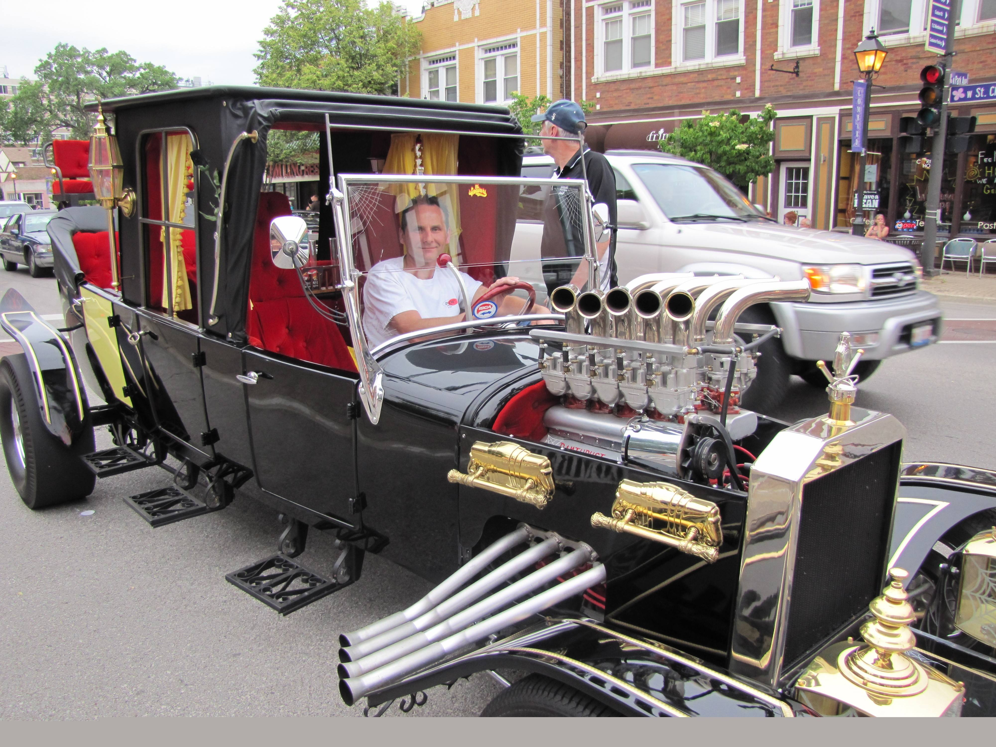 Vintage cars are on display from 6 to 10 p.m. every Saturday -- except for July 5 -- through Aug. 30 in downtown Lombard for Cruise Nights.