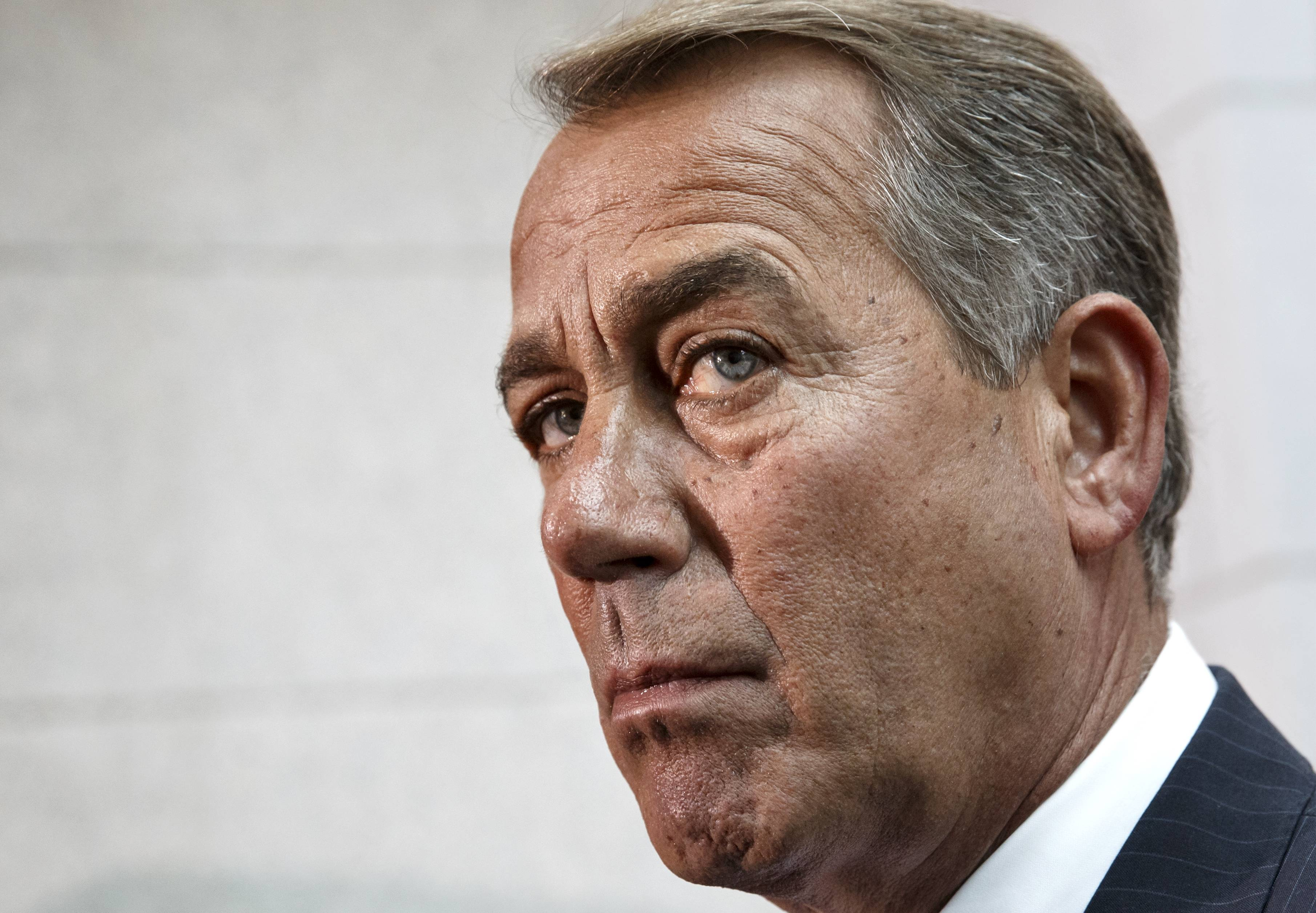House Speaker John Boehner said Wednesday he opposed outreach to Iran because it sends the wrong message to American allies in the Middle East given that the Islamic republic is alleged to have sponsored terrorism in the region.