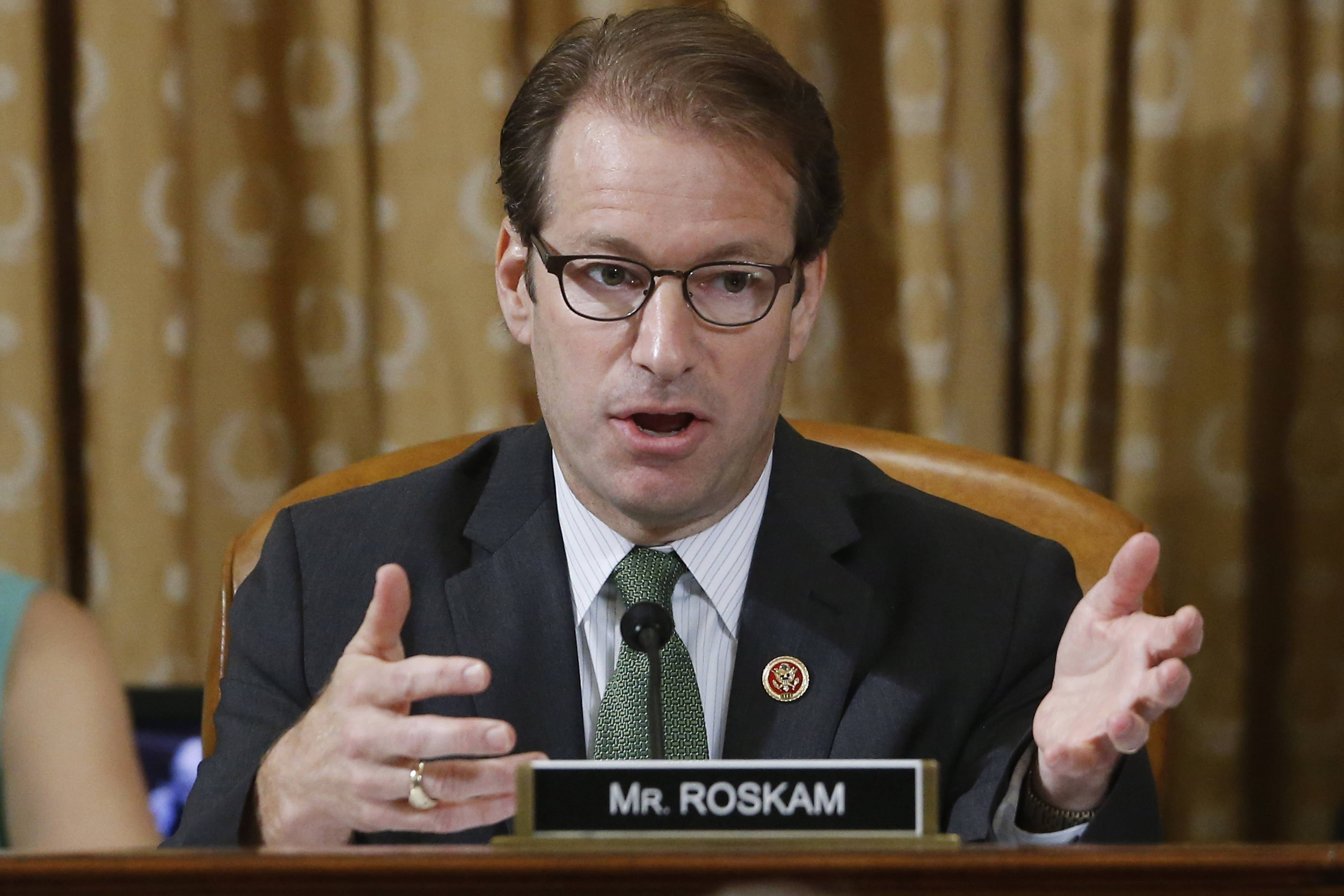 Rep. Peter Roskam, a Wheaton Republican, is one of three GOP lawmakers vying for the majority whip post.